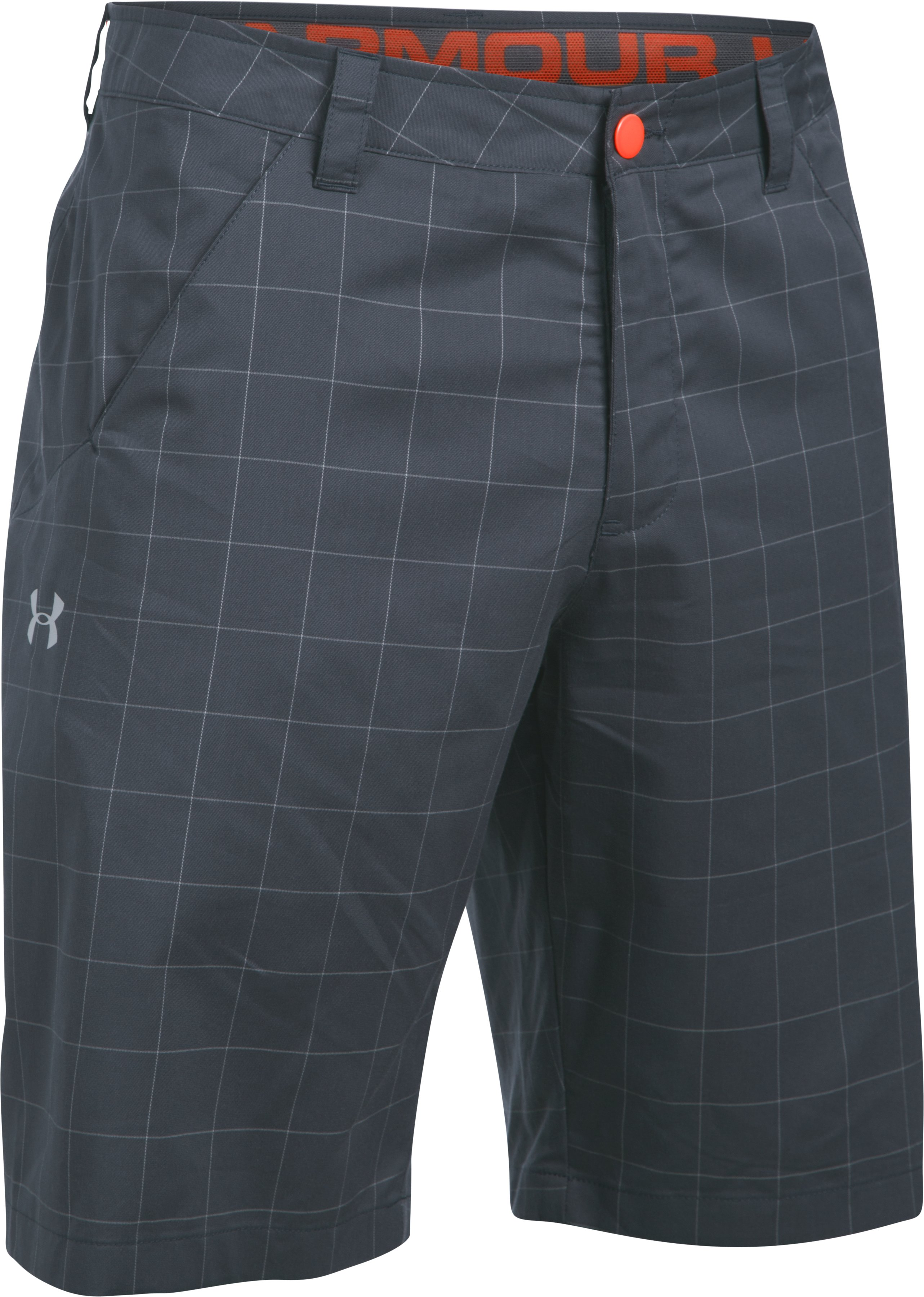 Men's UA Turf & Tide Amphibious Boardshorts, STEALTH GRAY, undefined