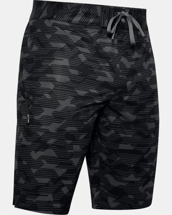 Men's UA Stretch Printed Boardshorts, Black, pdpMainDesktop image number 3