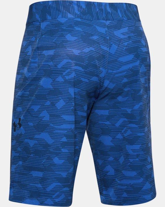Men's UA Stretch Printed Boardshorts, Blue, pdpMainDesktop image number 4