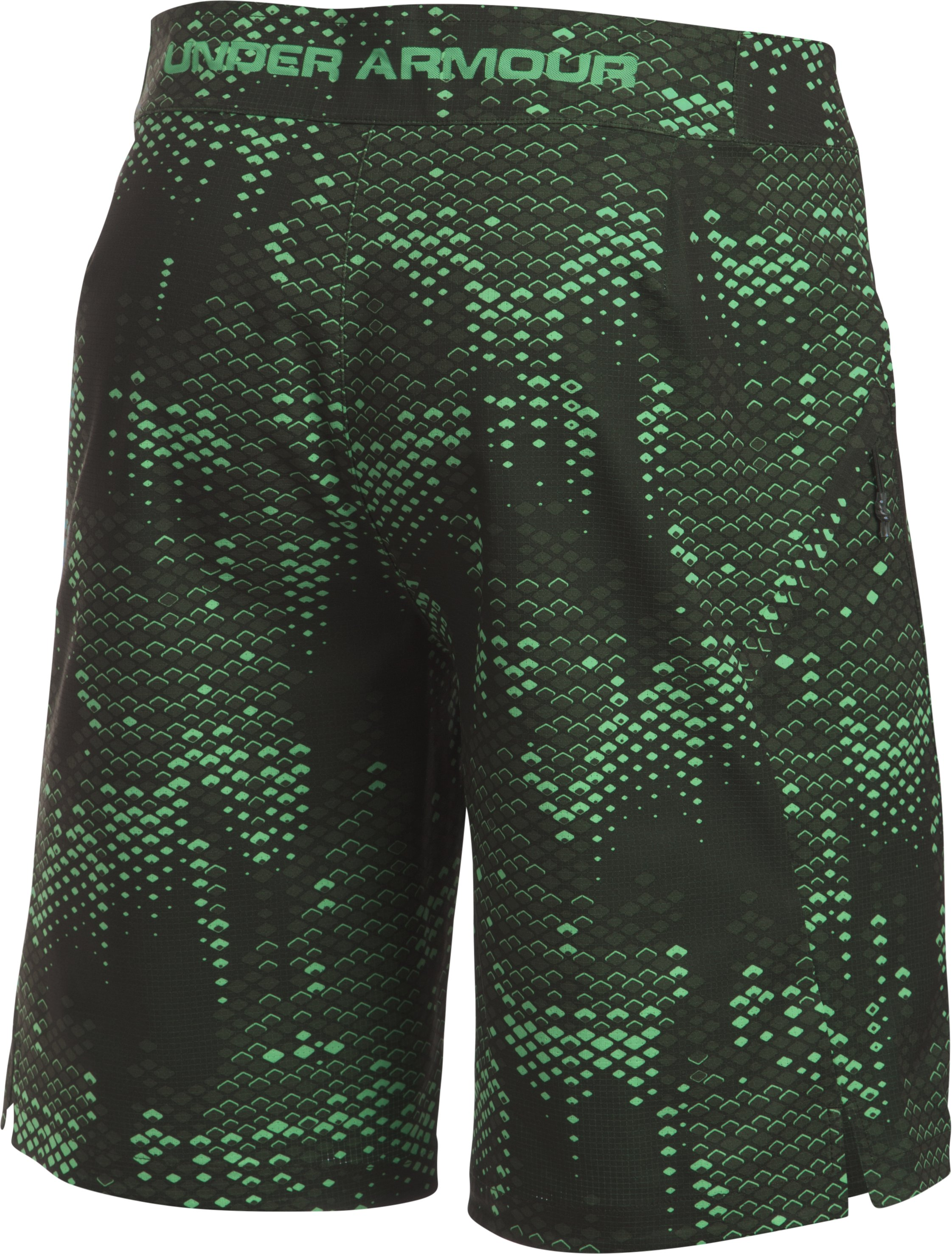 Men's UA ArmourVent™ Boardshorts, VAPOR GREEN, undefined