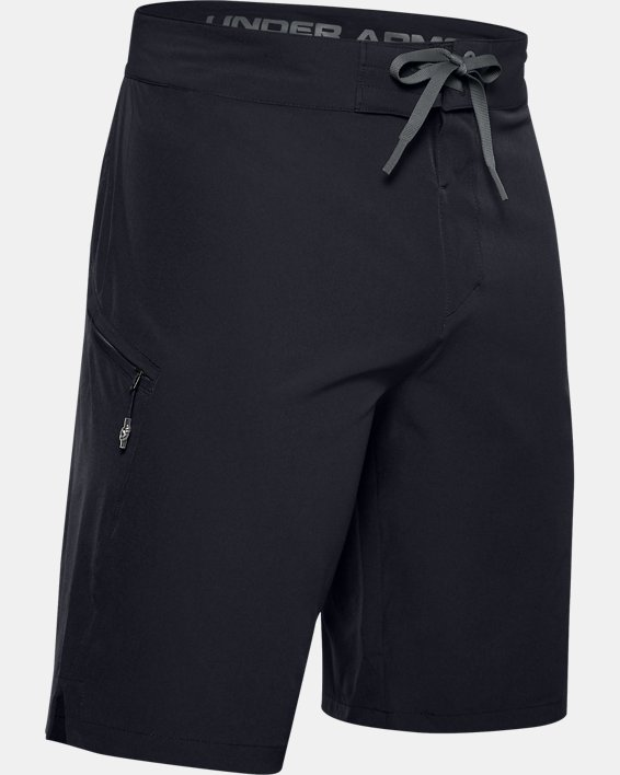 Men's UA Stretch Boardshorts, Black, pdpMainDesktop image number 3