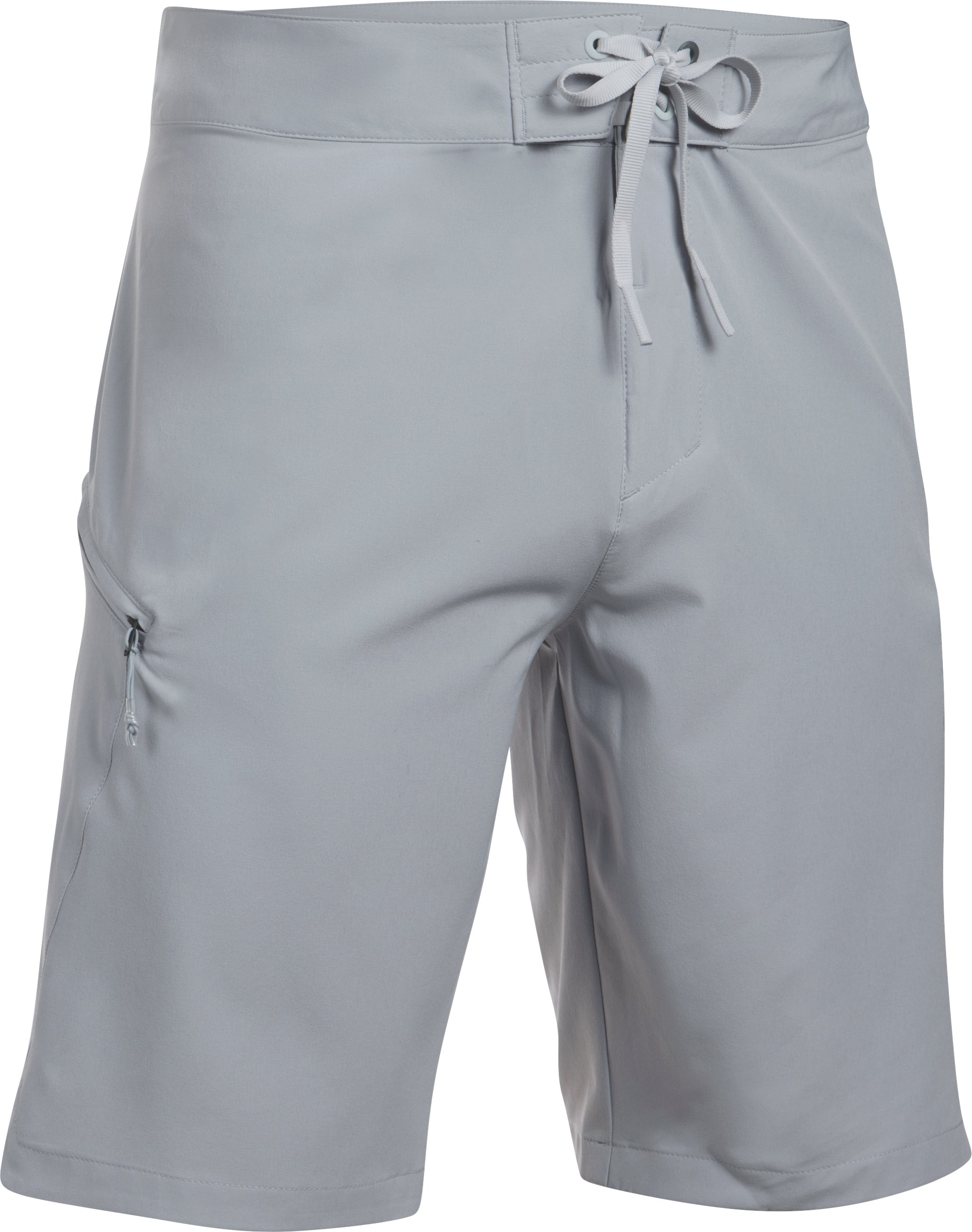 Men's UA Stretch Boardshorts, OVERCAST GRAY, undefined