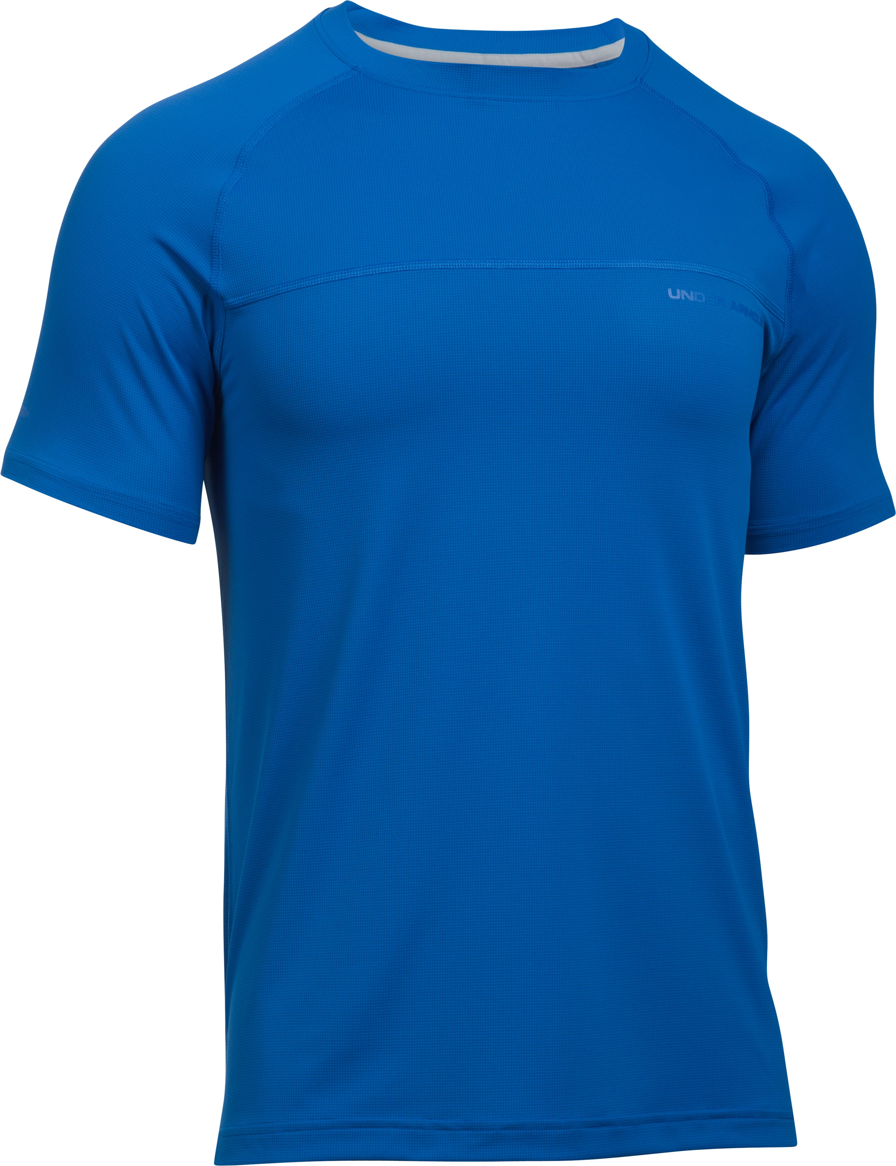 Men's UA The 50 Short Sleeve T-Shirt, BLUE MARKER,