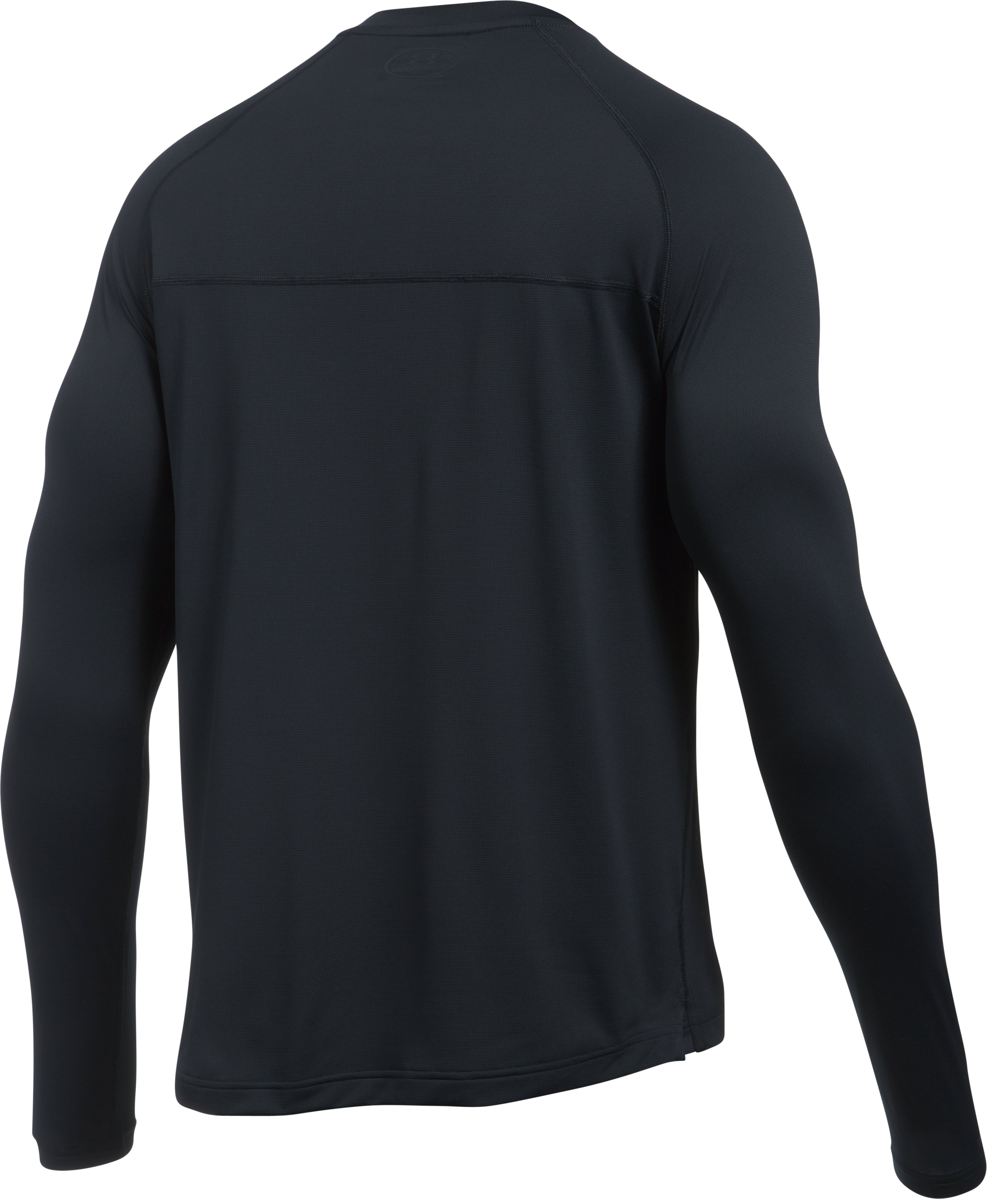 Men's UA The 50 Long Sleeve T-Shirt, Black , undefined