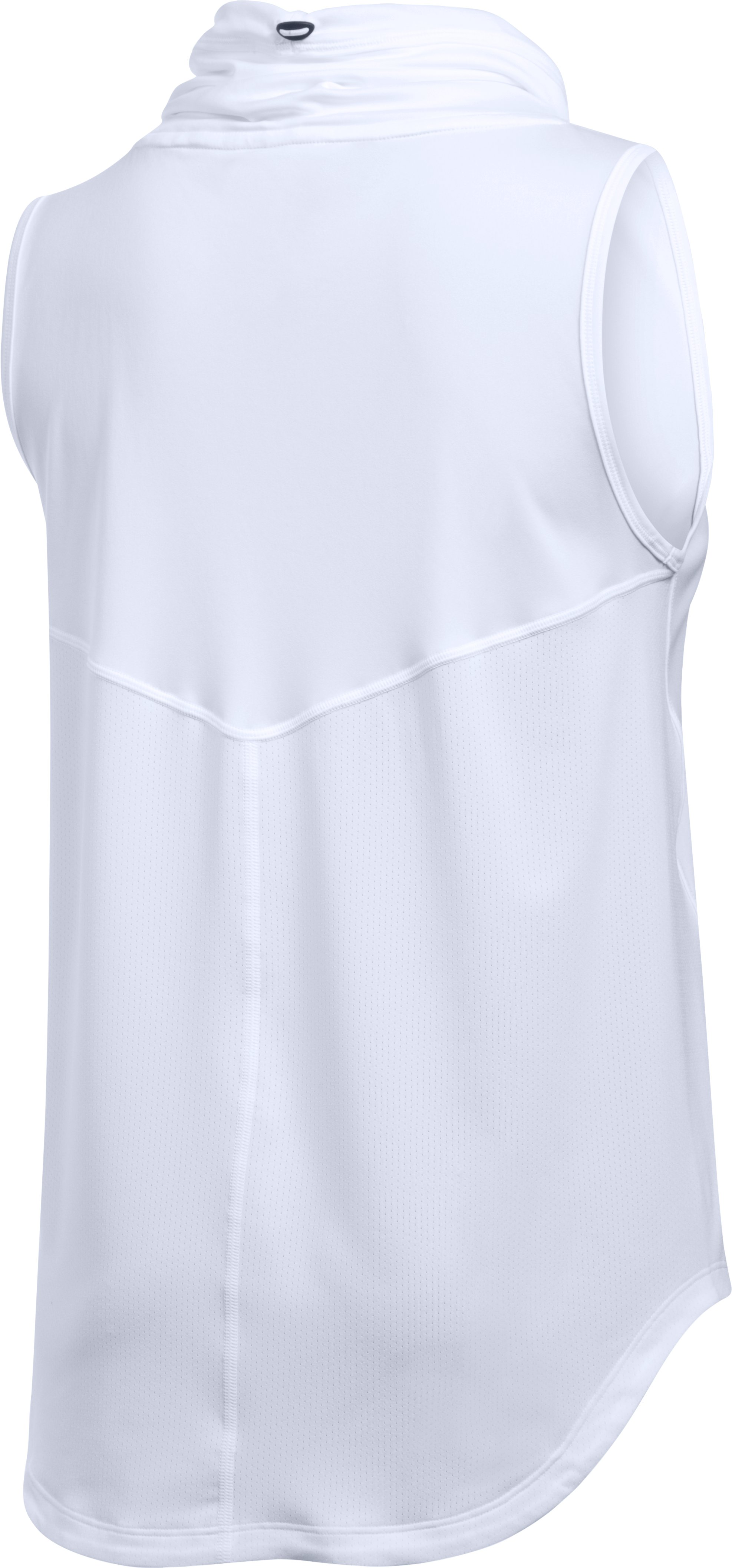 Women's UA CoolSwitch Thermocline Sleeveless, White,