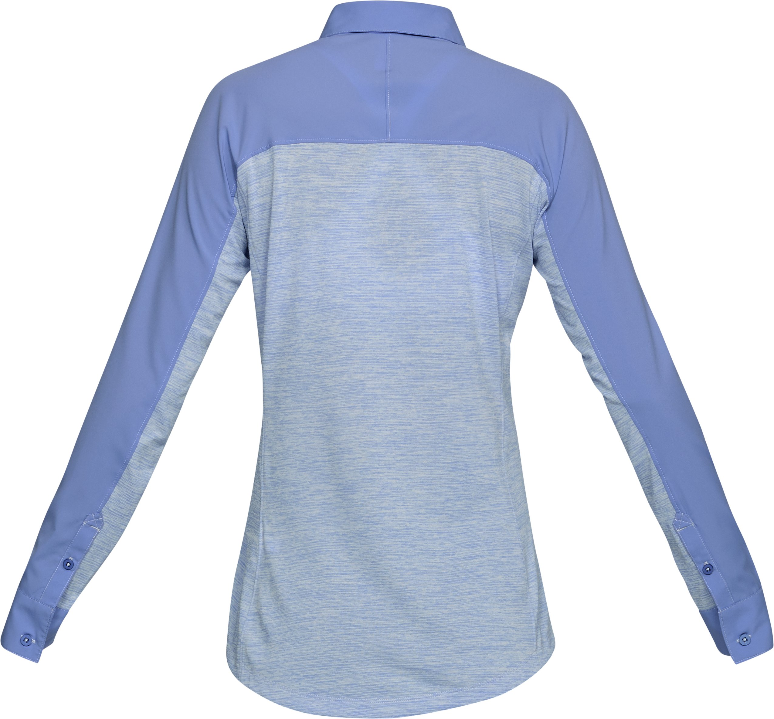 Women's UA Tide Chaser Hybrid Long Sleeve, TALC BLUE,