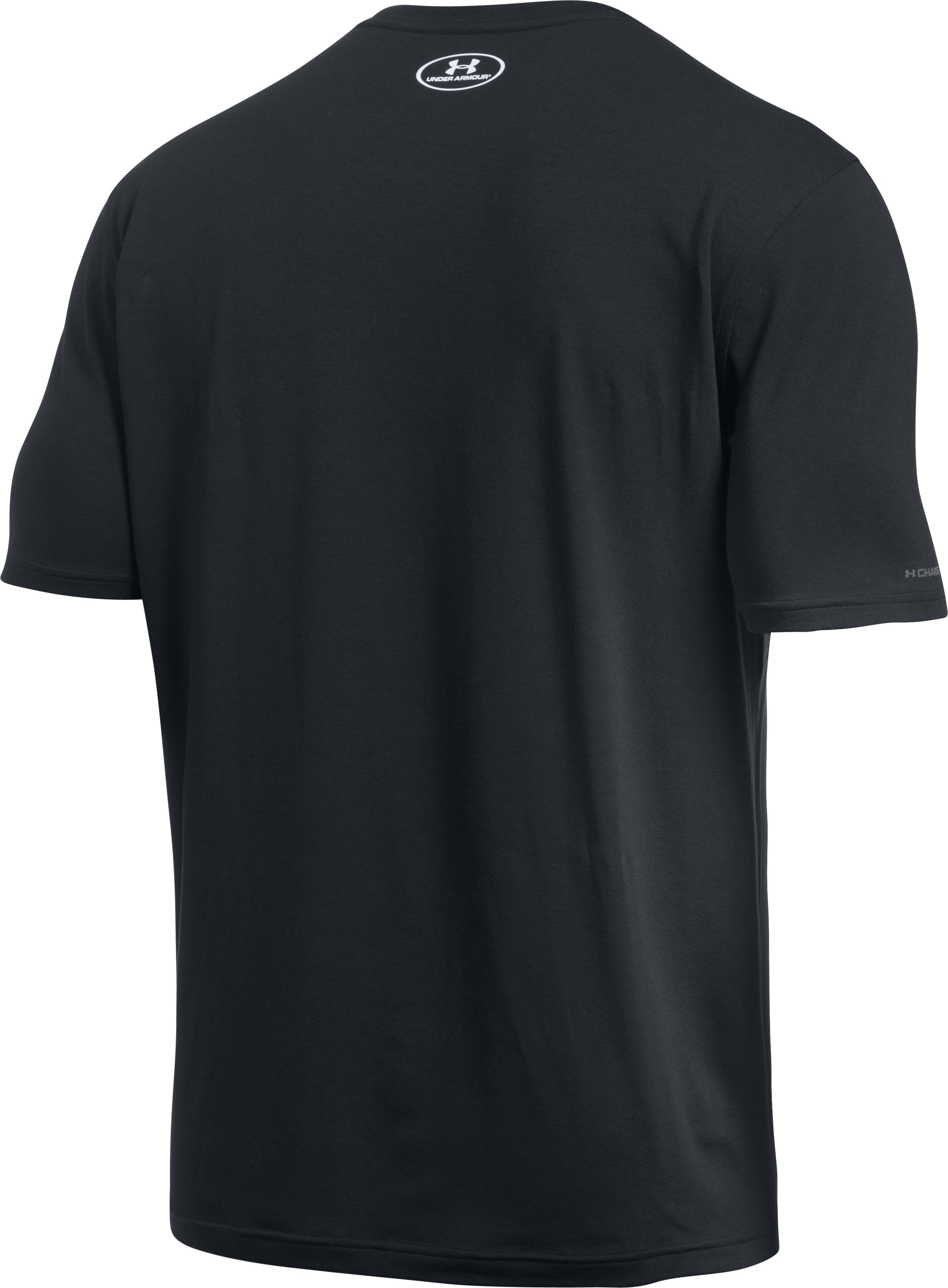 Men's UA BBall Logo T-Shirt, Black , undefined