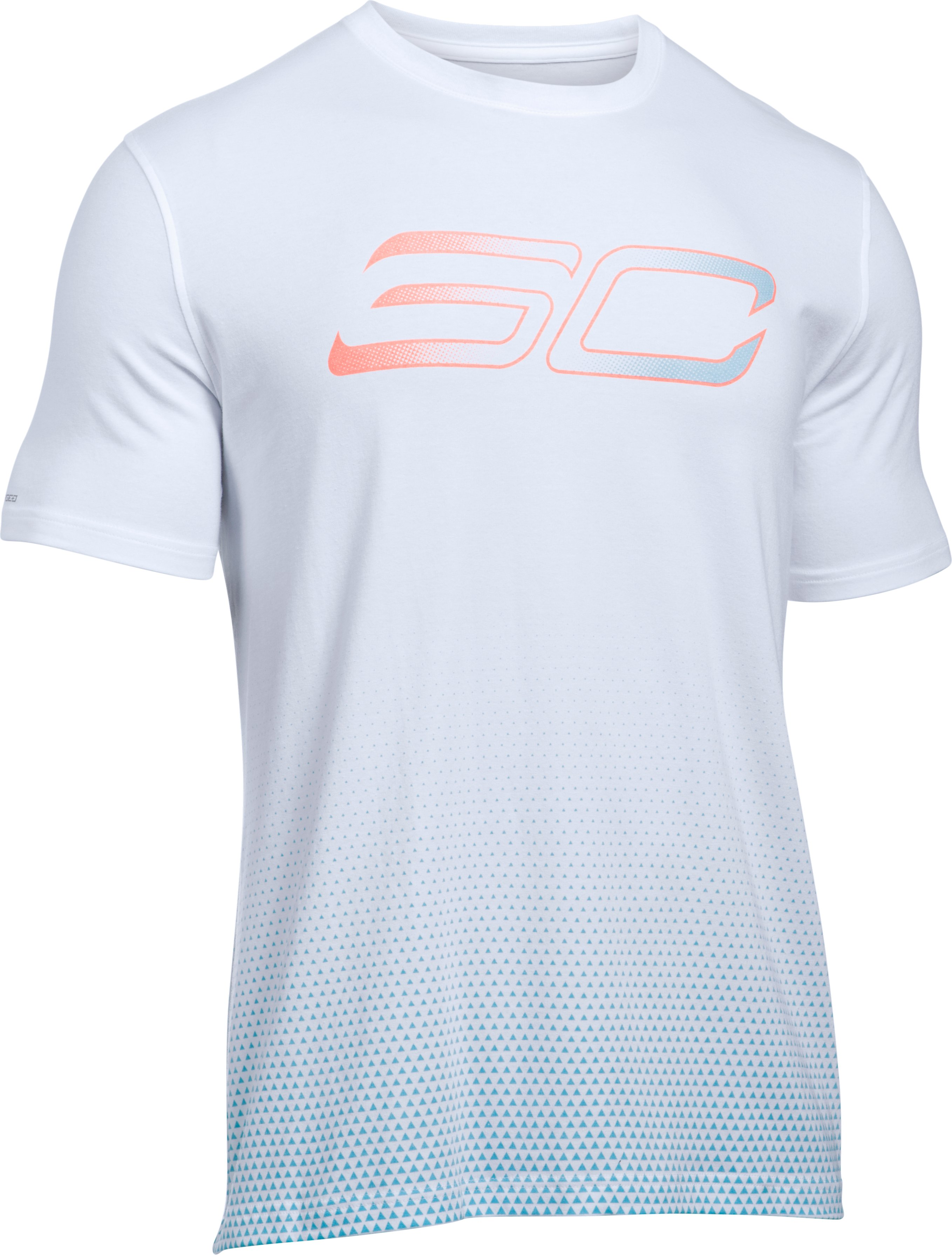 Men's SC30 Faded Logo T-Shirt, White, undefined