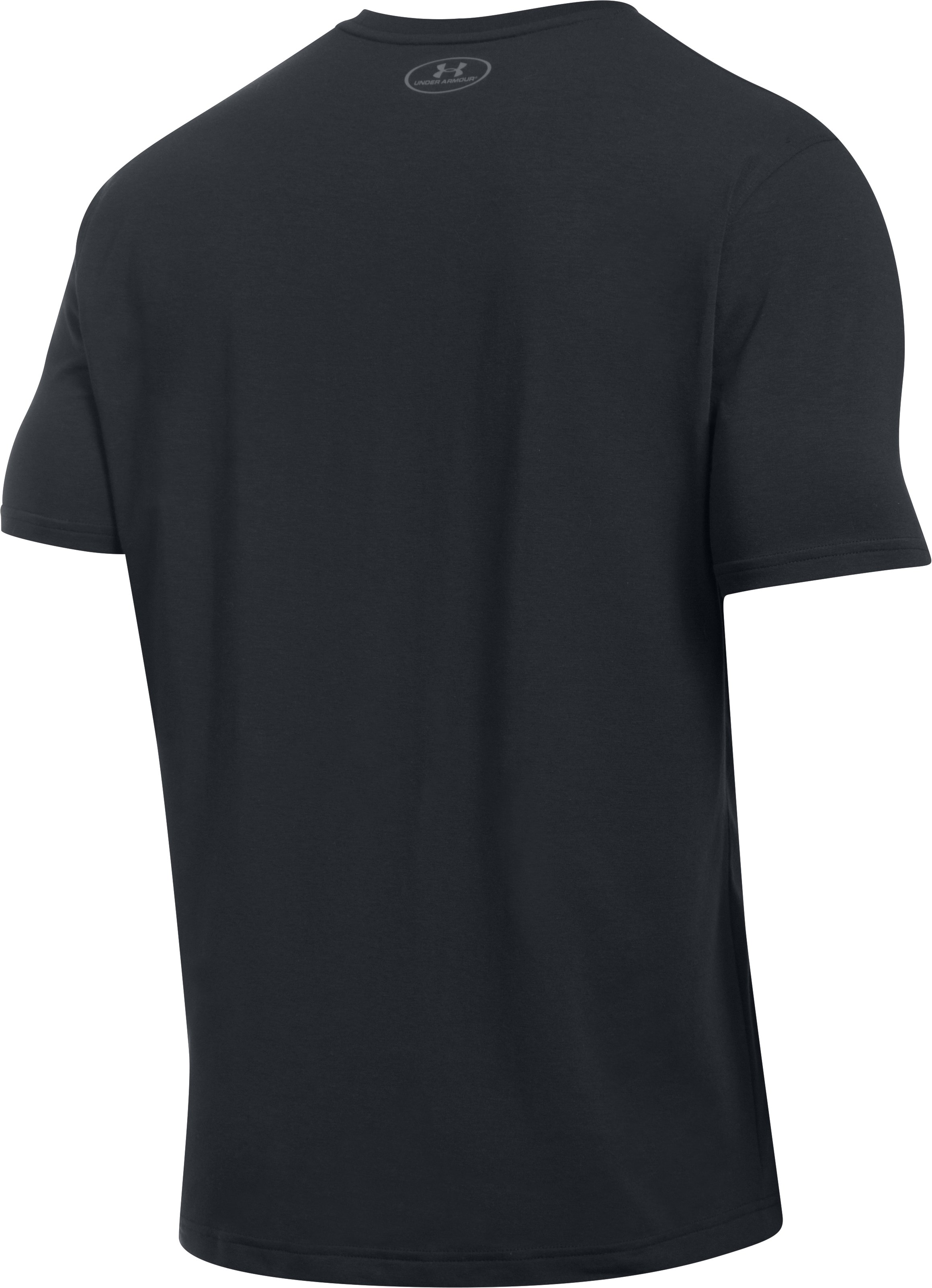 Men's UA Full Court Pocket T-Shirt, Black , undefined