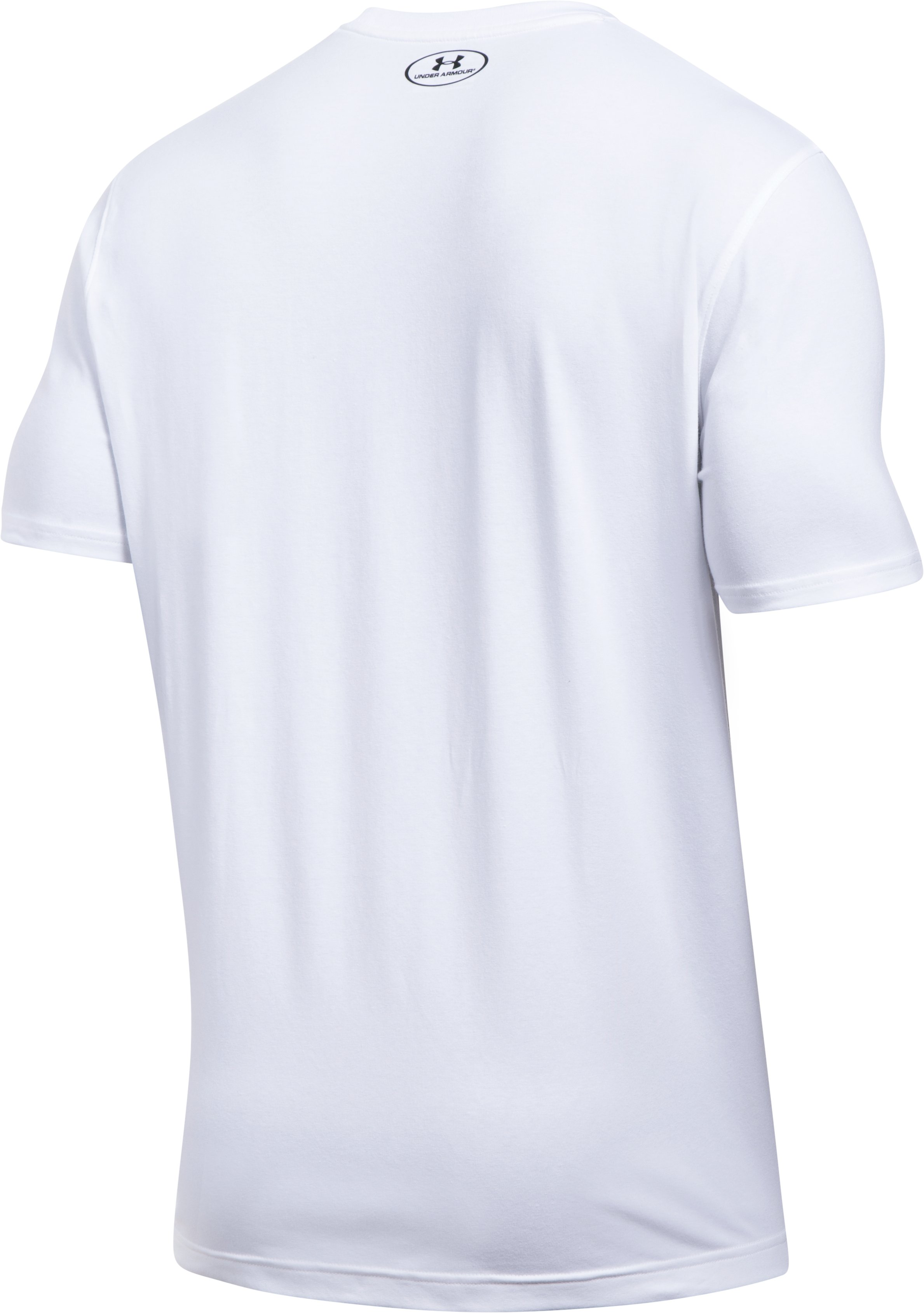 Men's UA Full Court Pocket T-Shirt, White, undefined