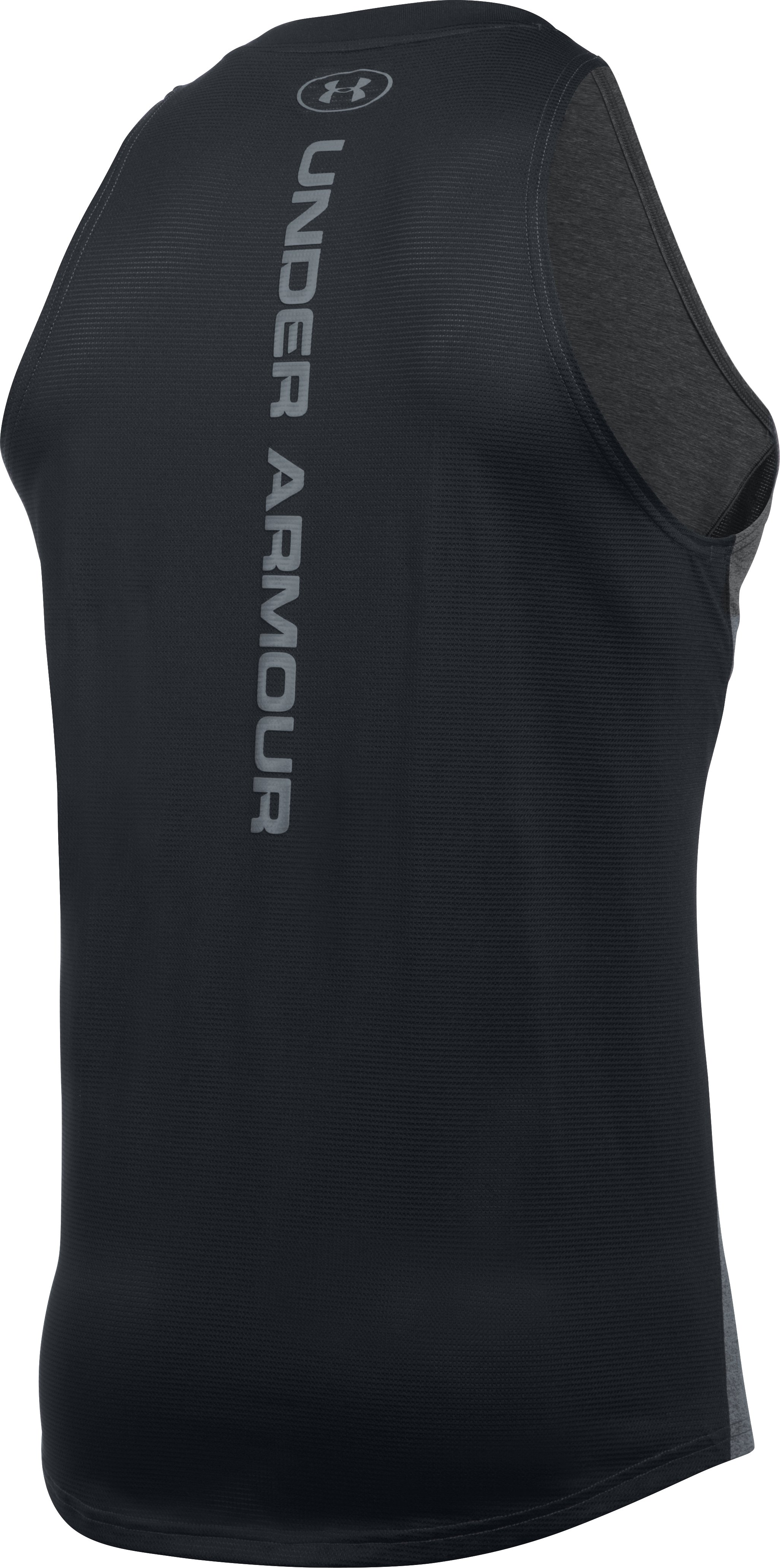 Men's UA Baseline Performance Tank, Carbon Heather, undefined