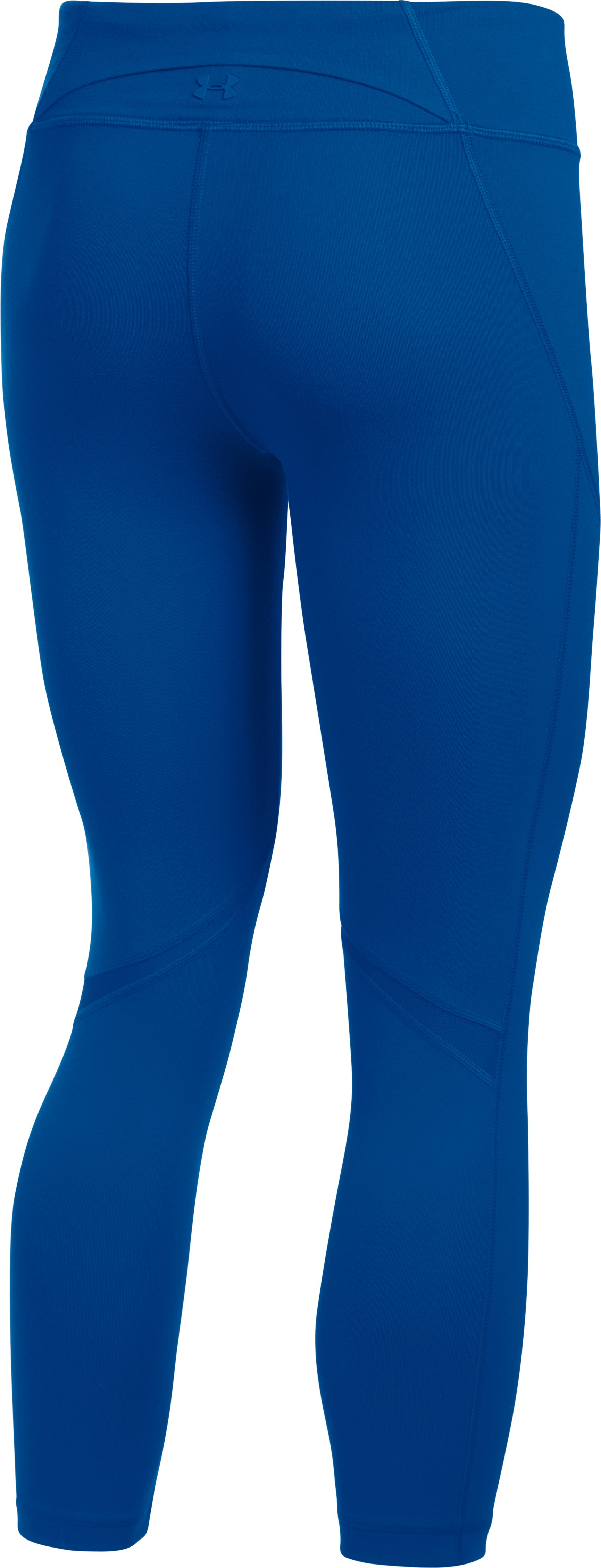 Women's UA Mirror Colorblock Crop, Royal