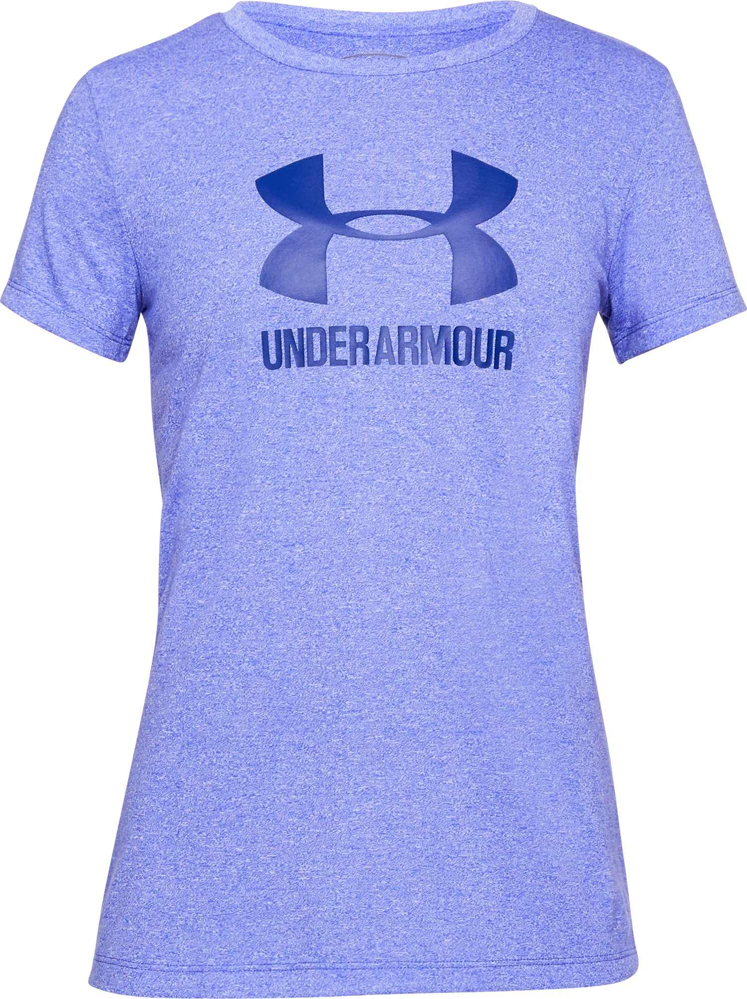 Women's UA Threadborne Sportstyle Crew - Twist, CONSTELLATION PURPLE,