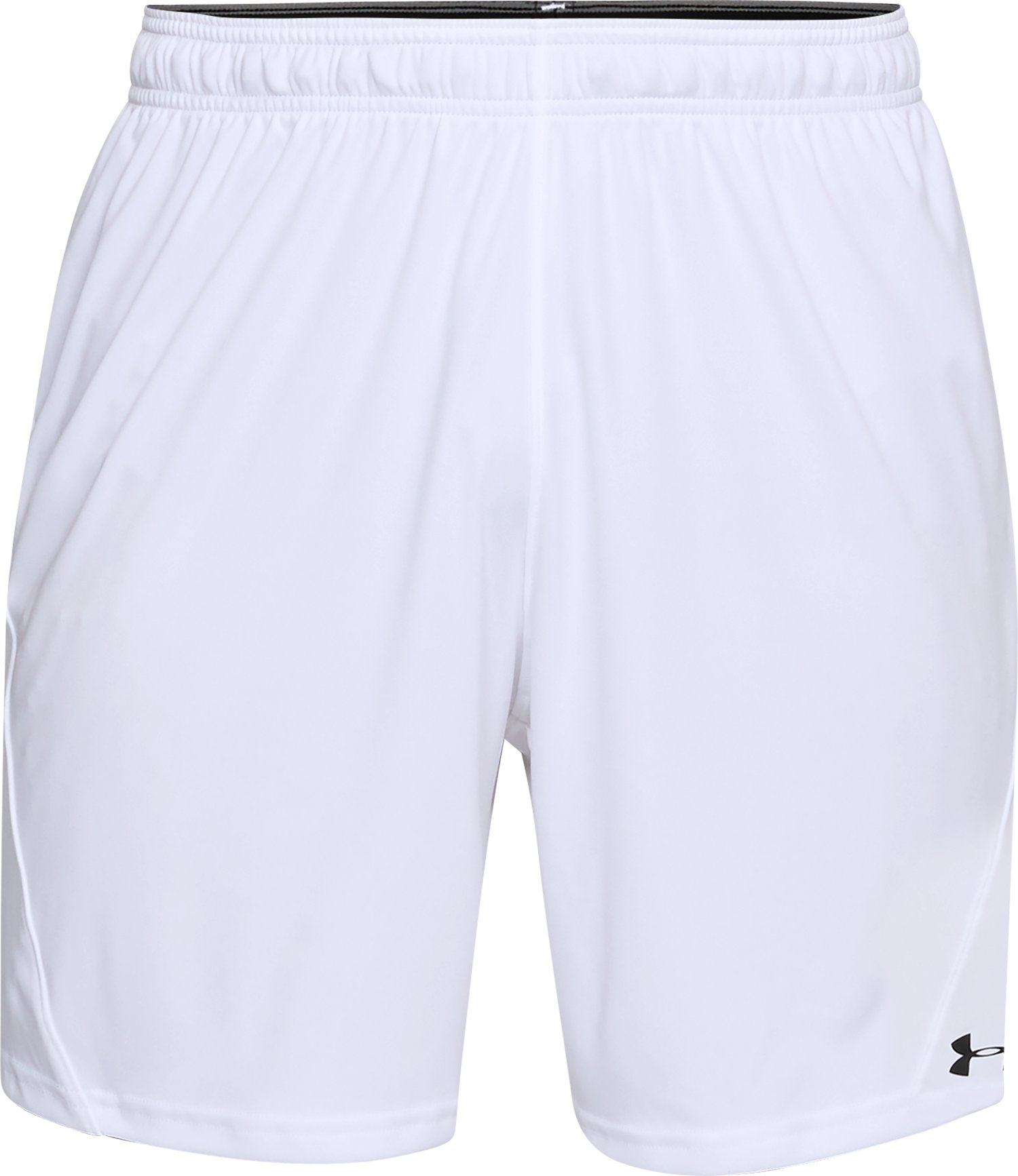 Men's UA Challenger Knit Shorts, White, undefined