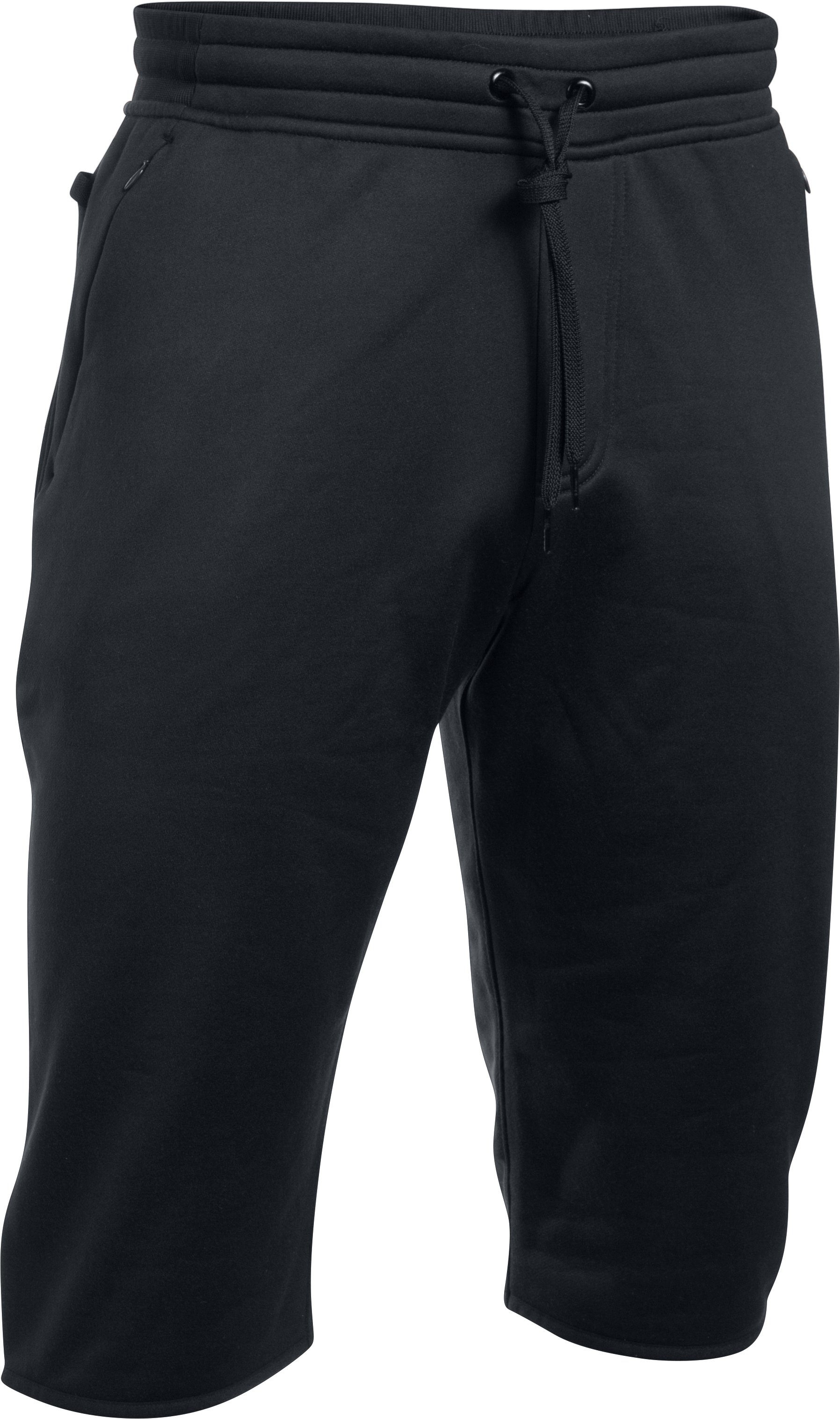 Men's UA Baseline ½ Pants, Black , undefined