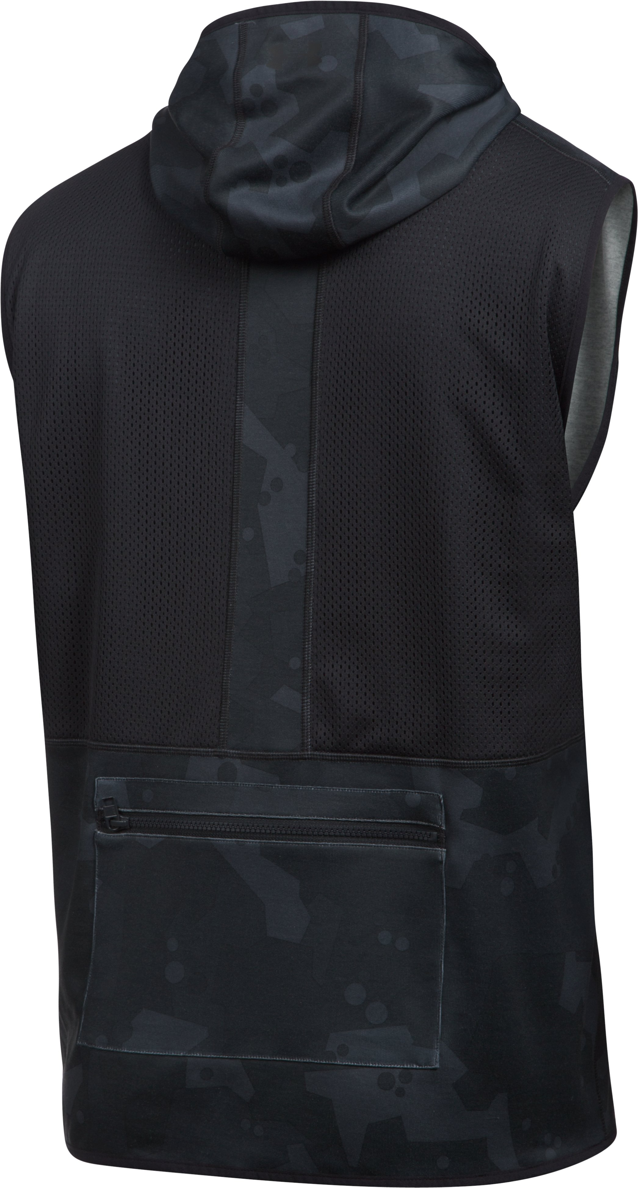 Men's UA Pursuit Safari Vest, Black , undefined