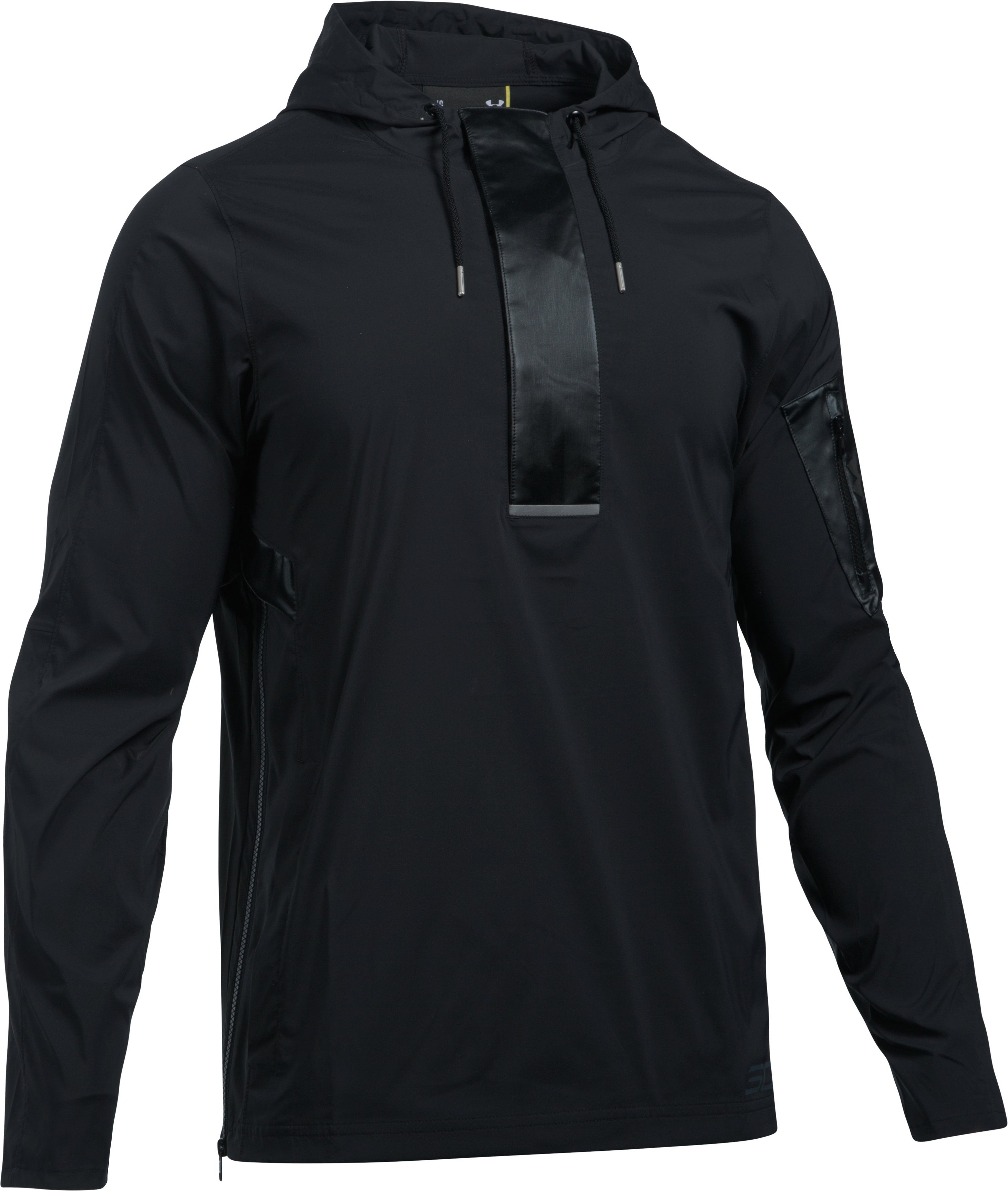 Men's SC30 Splash ½ Zip Jacket, Black ,