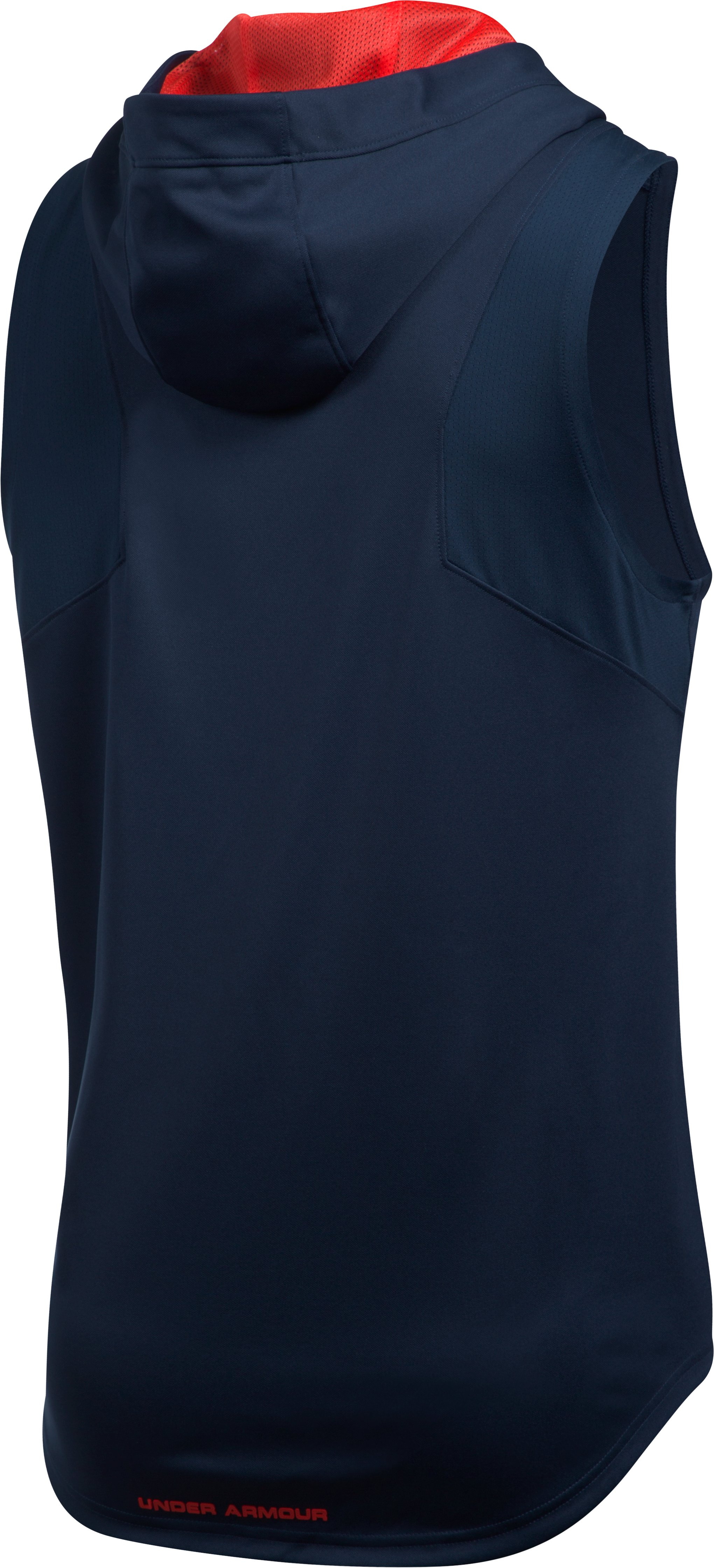 Men's UA Select Sleeveless Hoodie, Midnight Navy, undefined