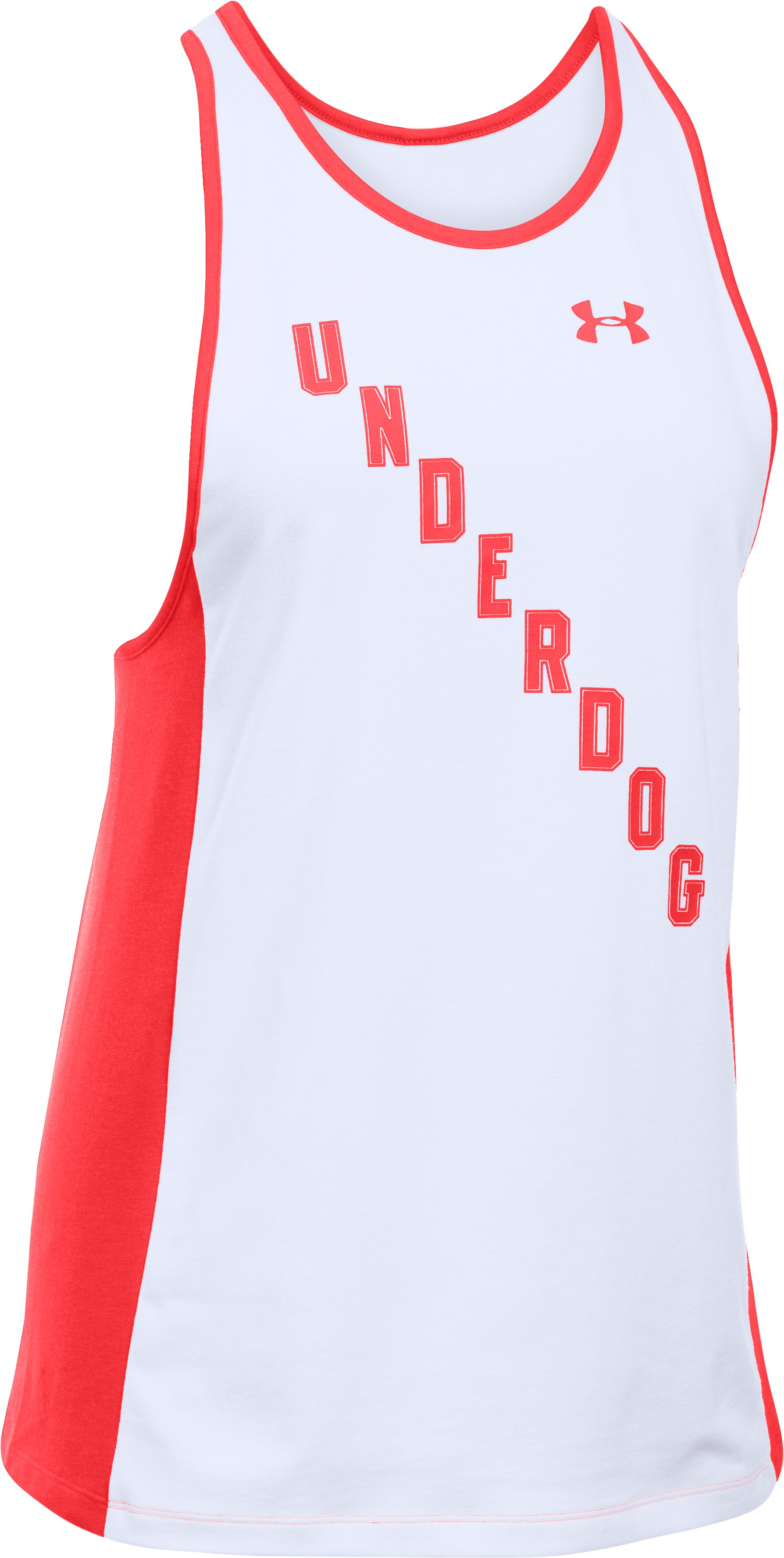 Women's UA Rest Day Underdog Tank, White,