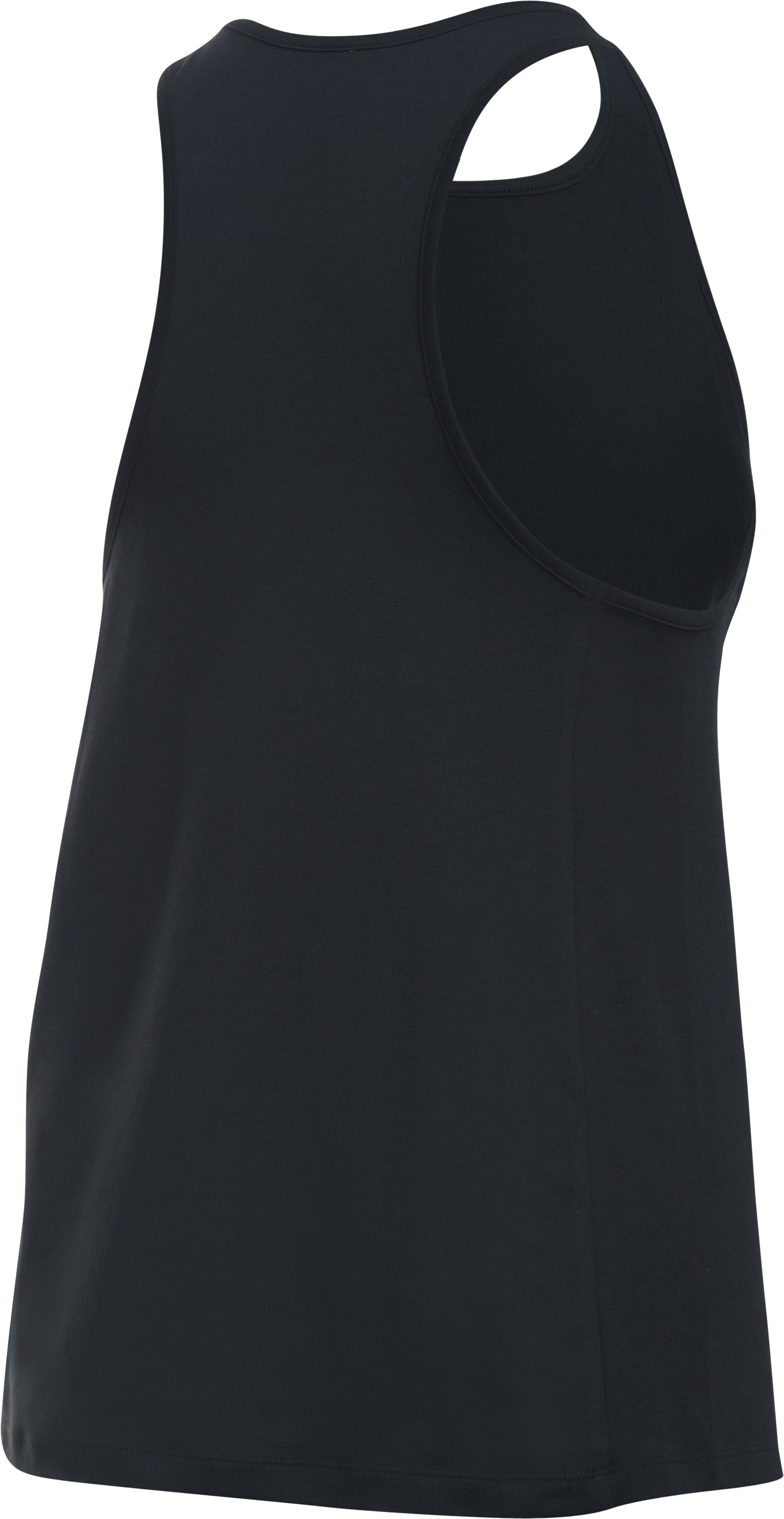 Women's UA Rest Day Tank, Black , undefined