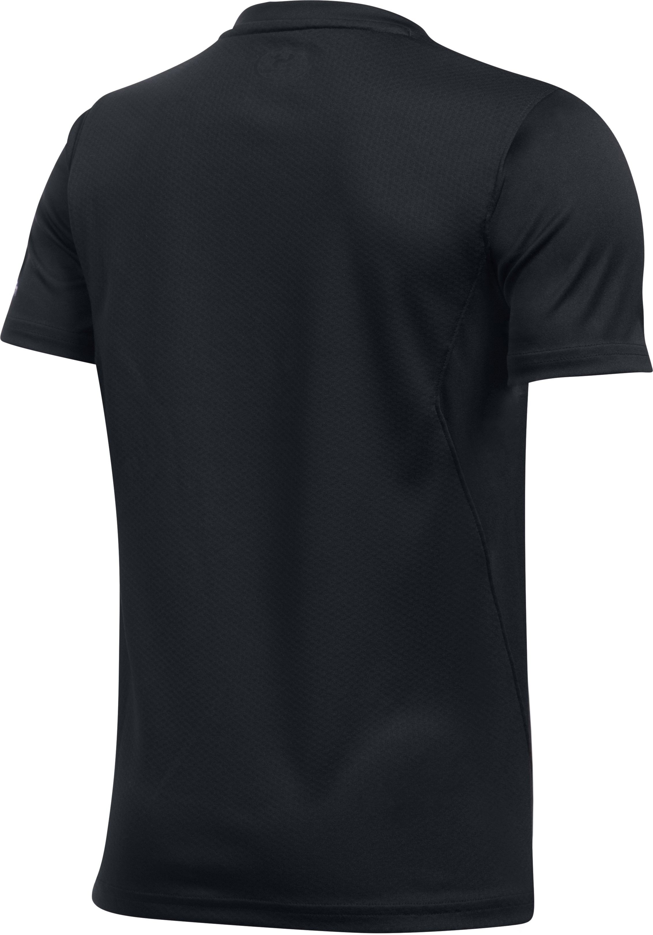 Kids' UA Challenger Training T-Shirt, Black , undefined