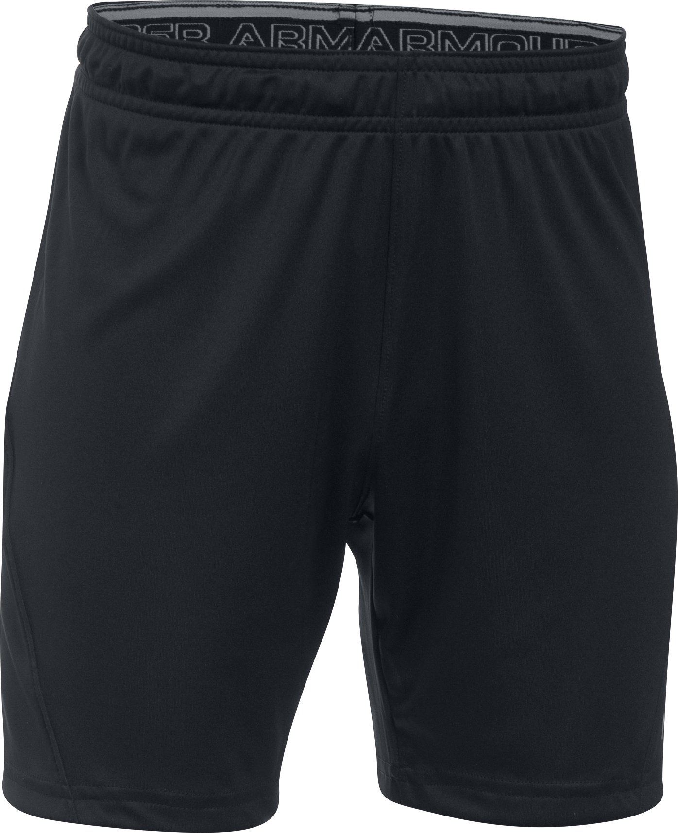 Kids' UA Challenger Knit Shorts, Black ,