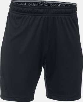 Kids' UA Challenger Knit Shorts LIMITED TIME: FREE SHIPPING 1  Color Available $22.99