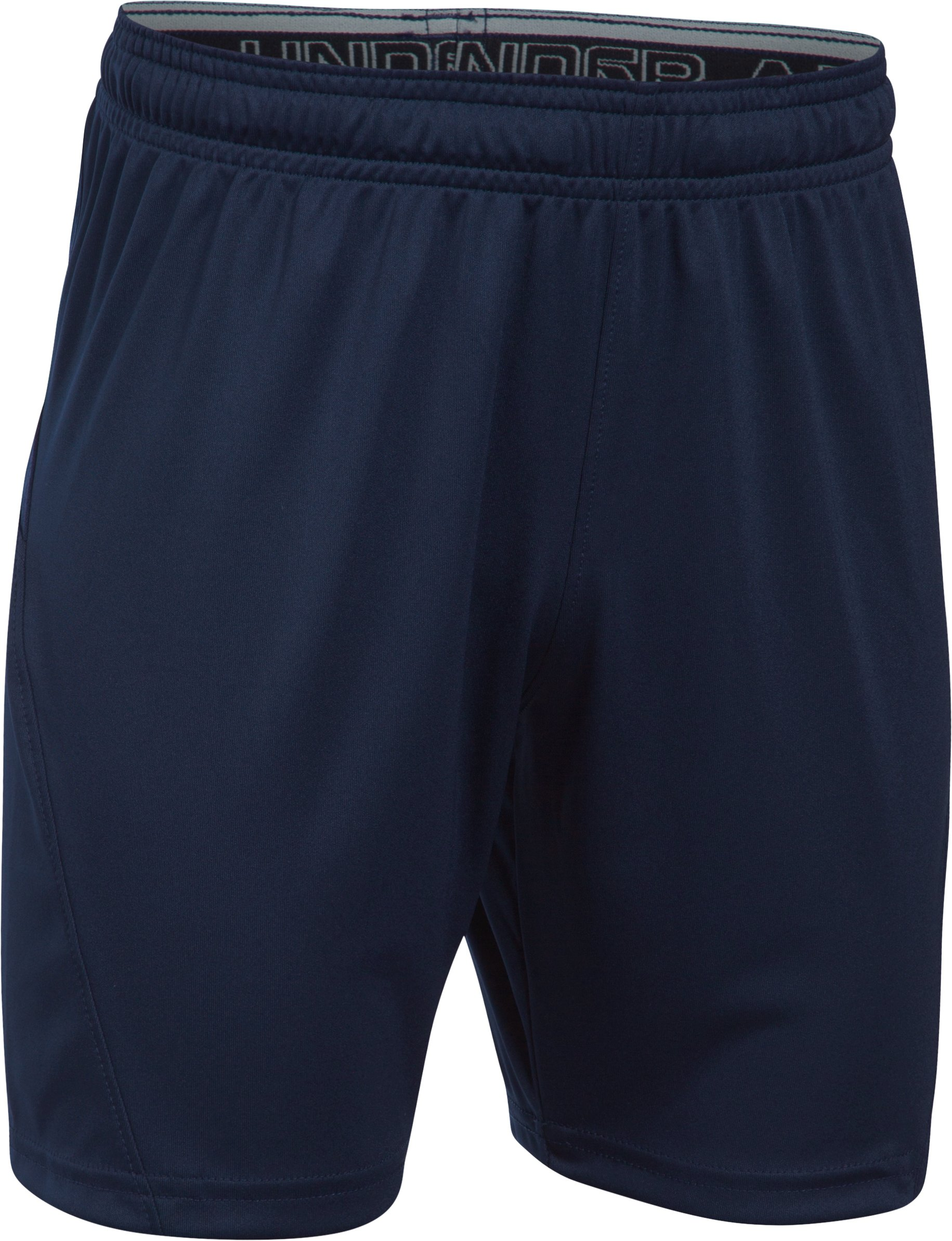 Kids' UA Challenger Knit Shorts, Midnight Navy