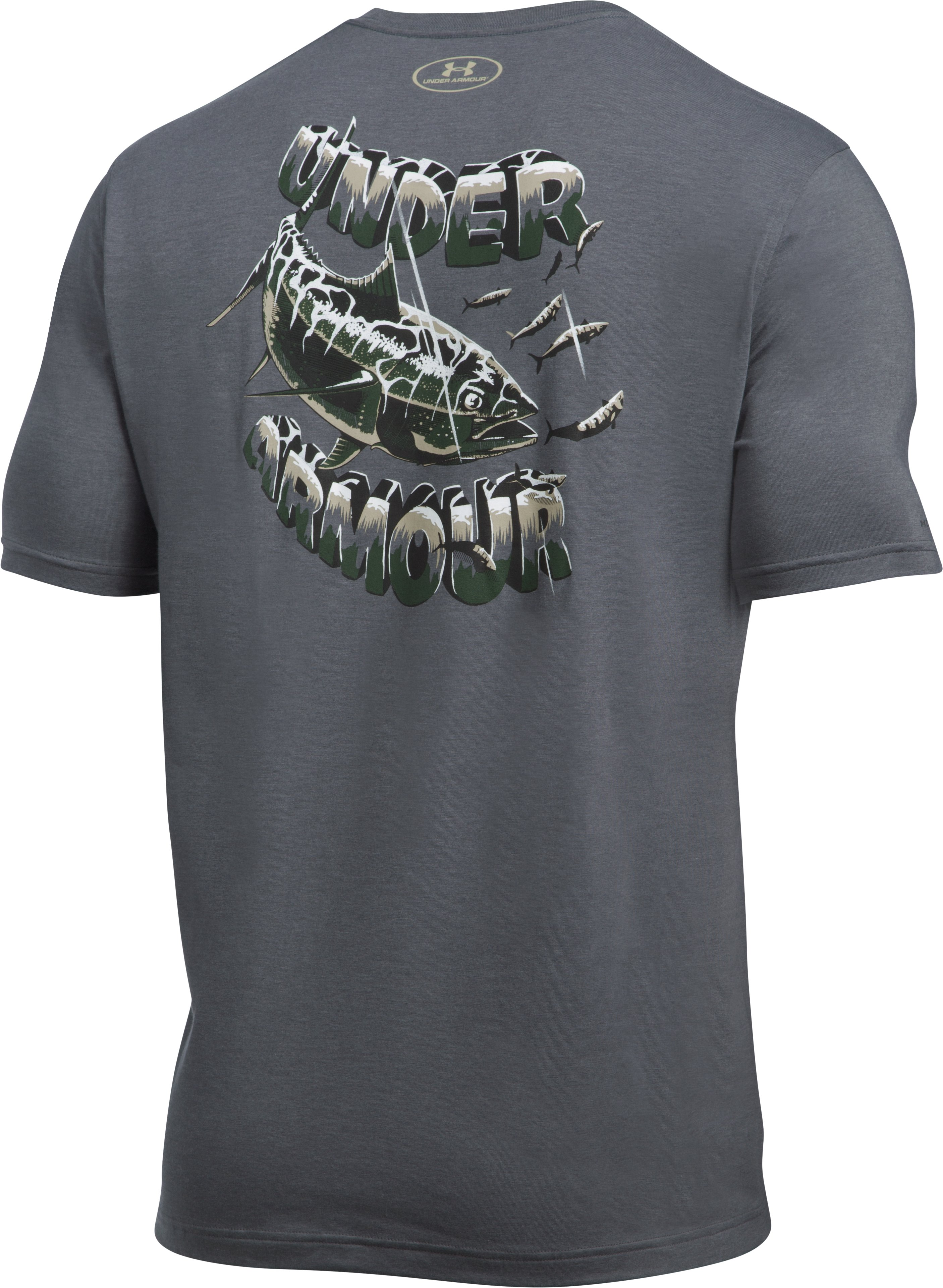 Men's UA Tuna T-Shirt, RHINO GRAY,