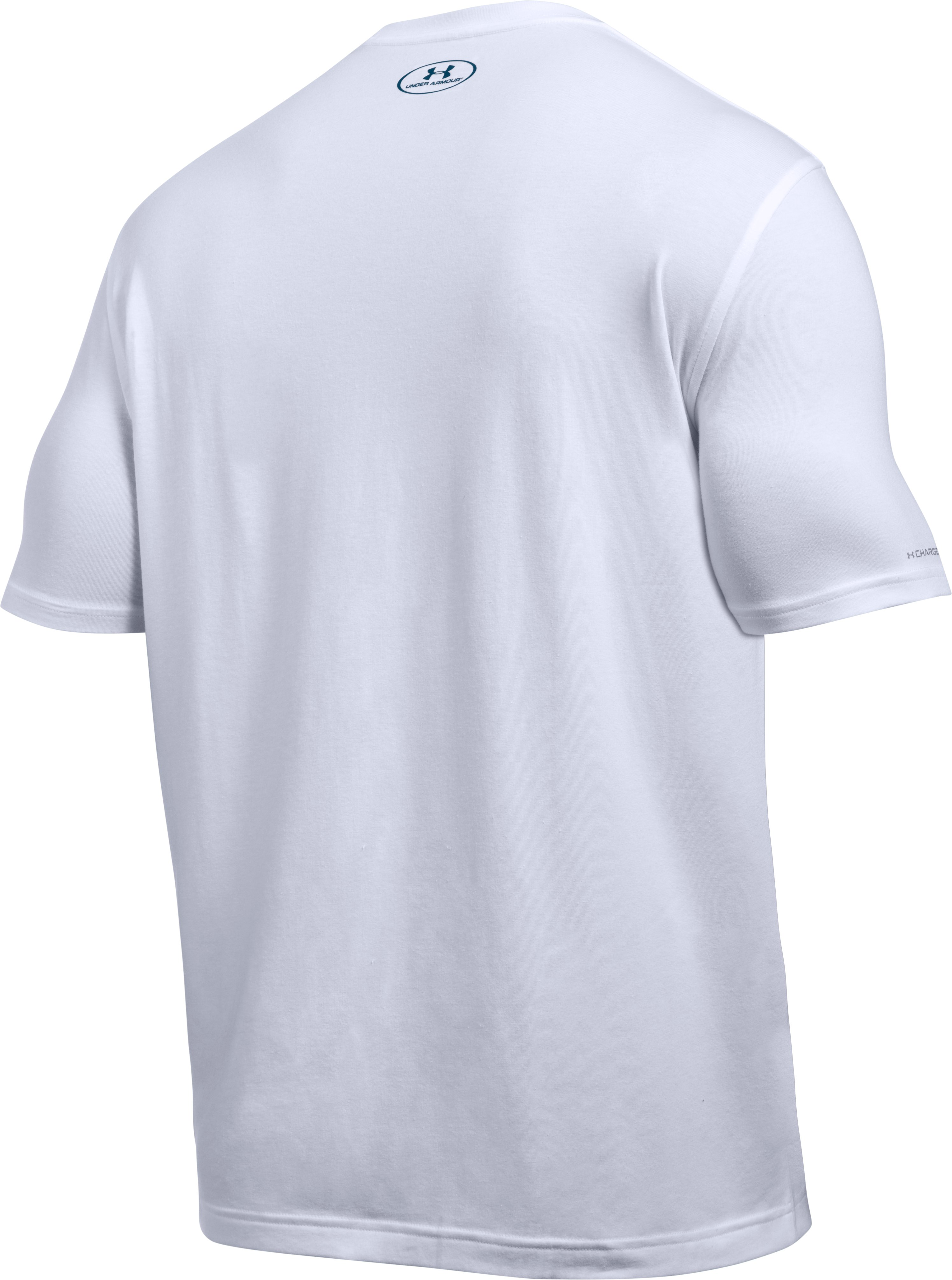 Men's UA Fish Pill T-Shirt, White, undefined