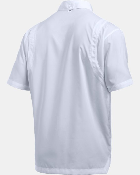 Men's UA Tide Chaser Short Sleeve, White, pdpMainDesktop image number 8