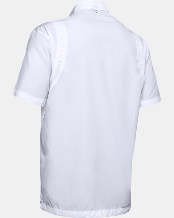 Men's UA Tide Chaser Short Sleeve, White, pdpMainDesktop image number 6