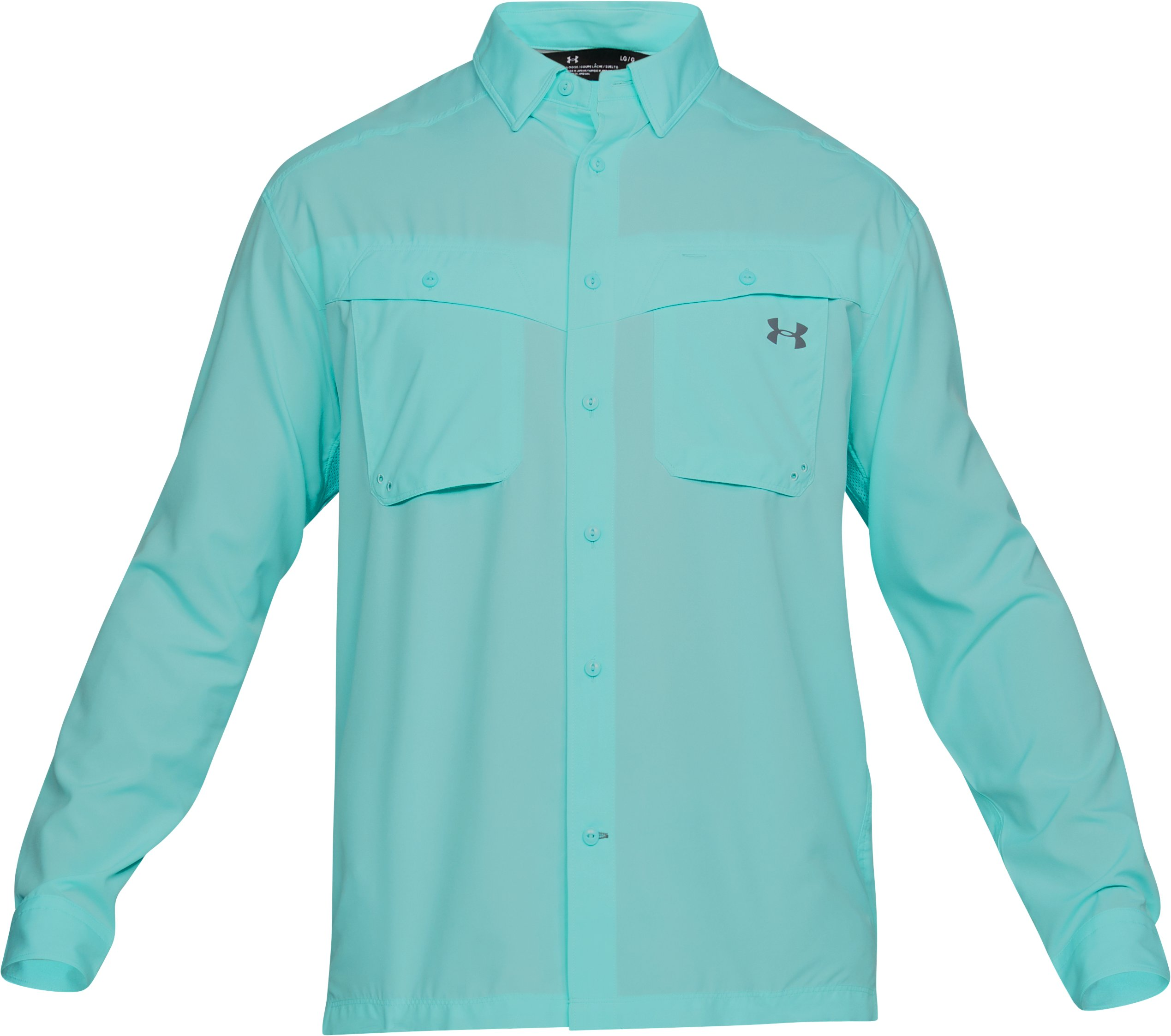 Men's UA Tide Chaser Long Sleeve, TROPICAL TIDE,
