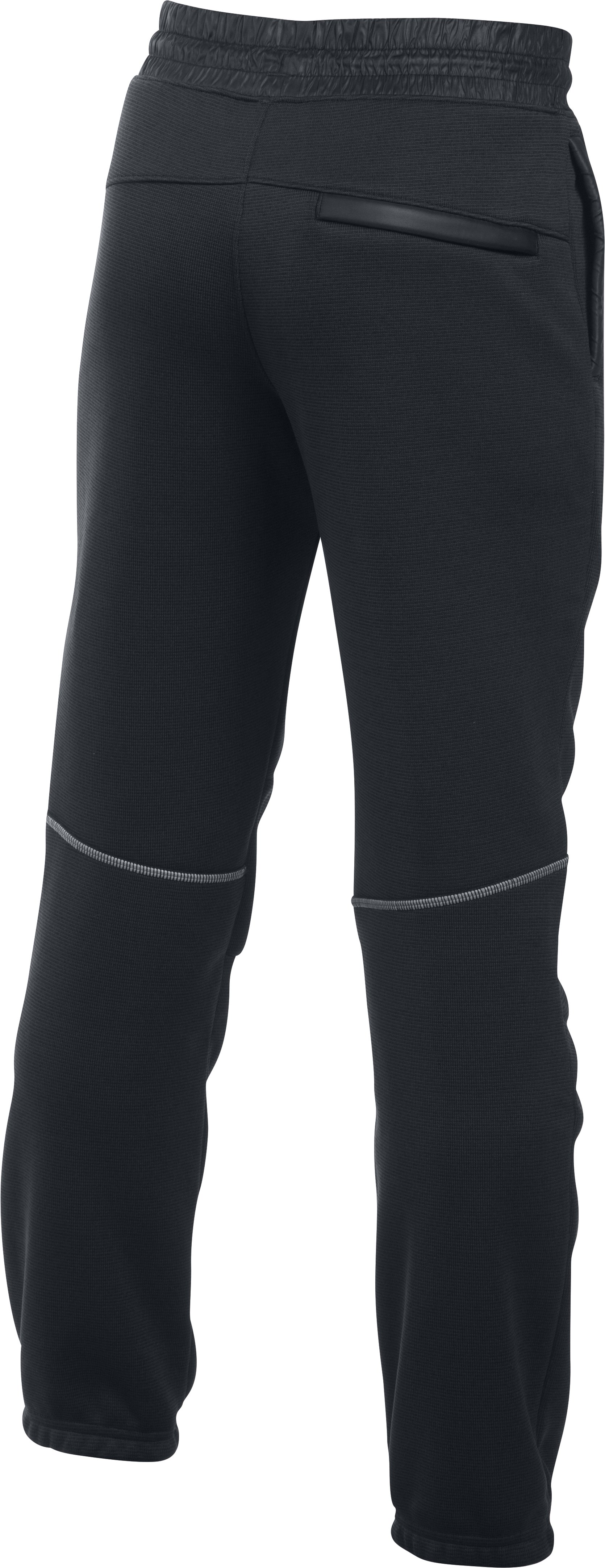 Boys' UA Swacket Pants, Black ,