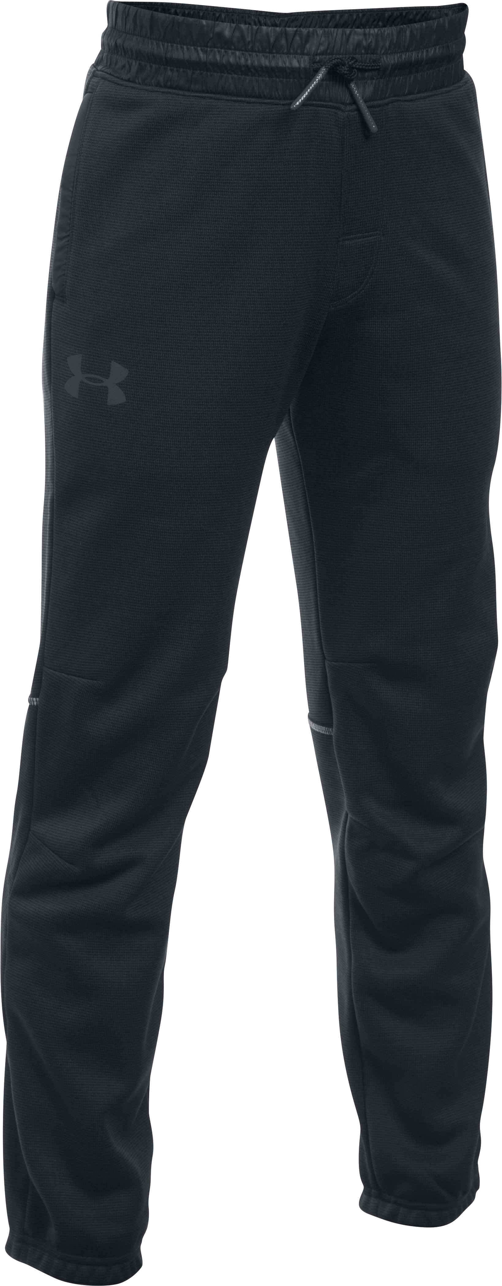 Boys' UA Swacket Pants, Black , undefined