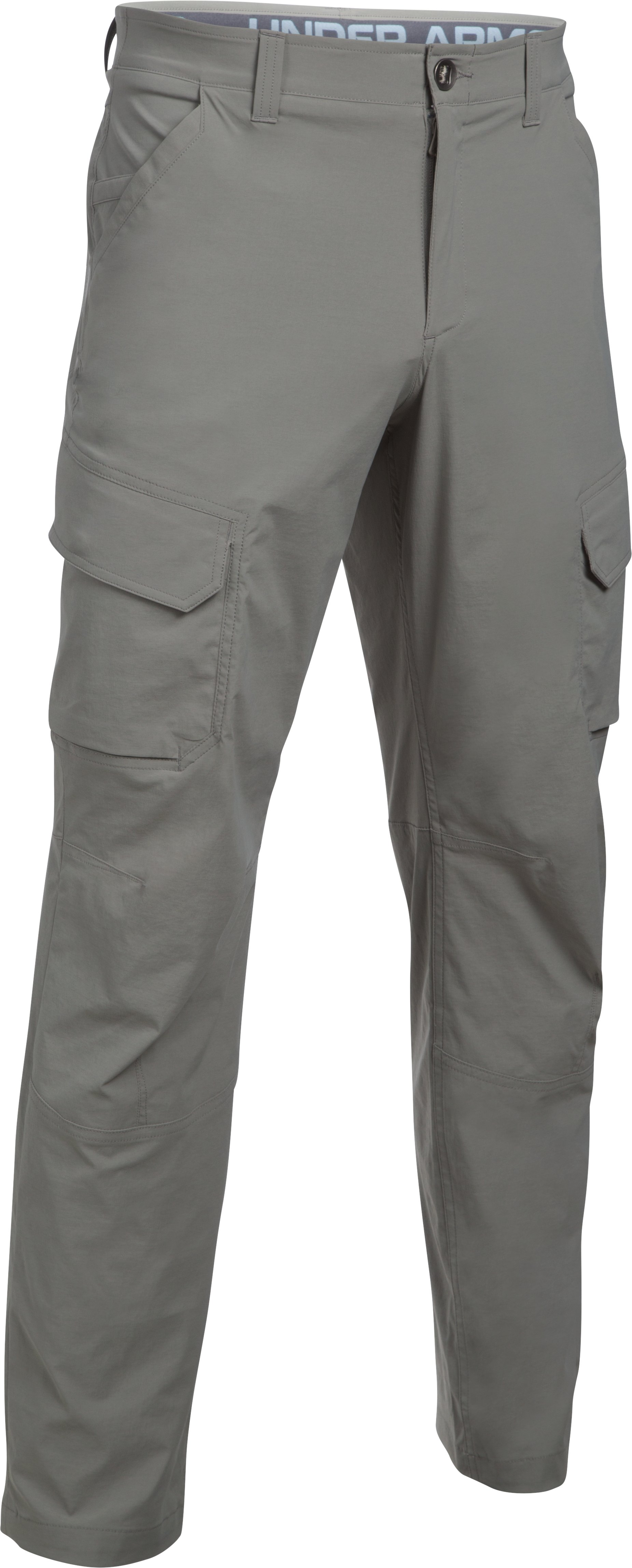 Men's UA Fish Hunter Cargo Pants, TAN STONE,