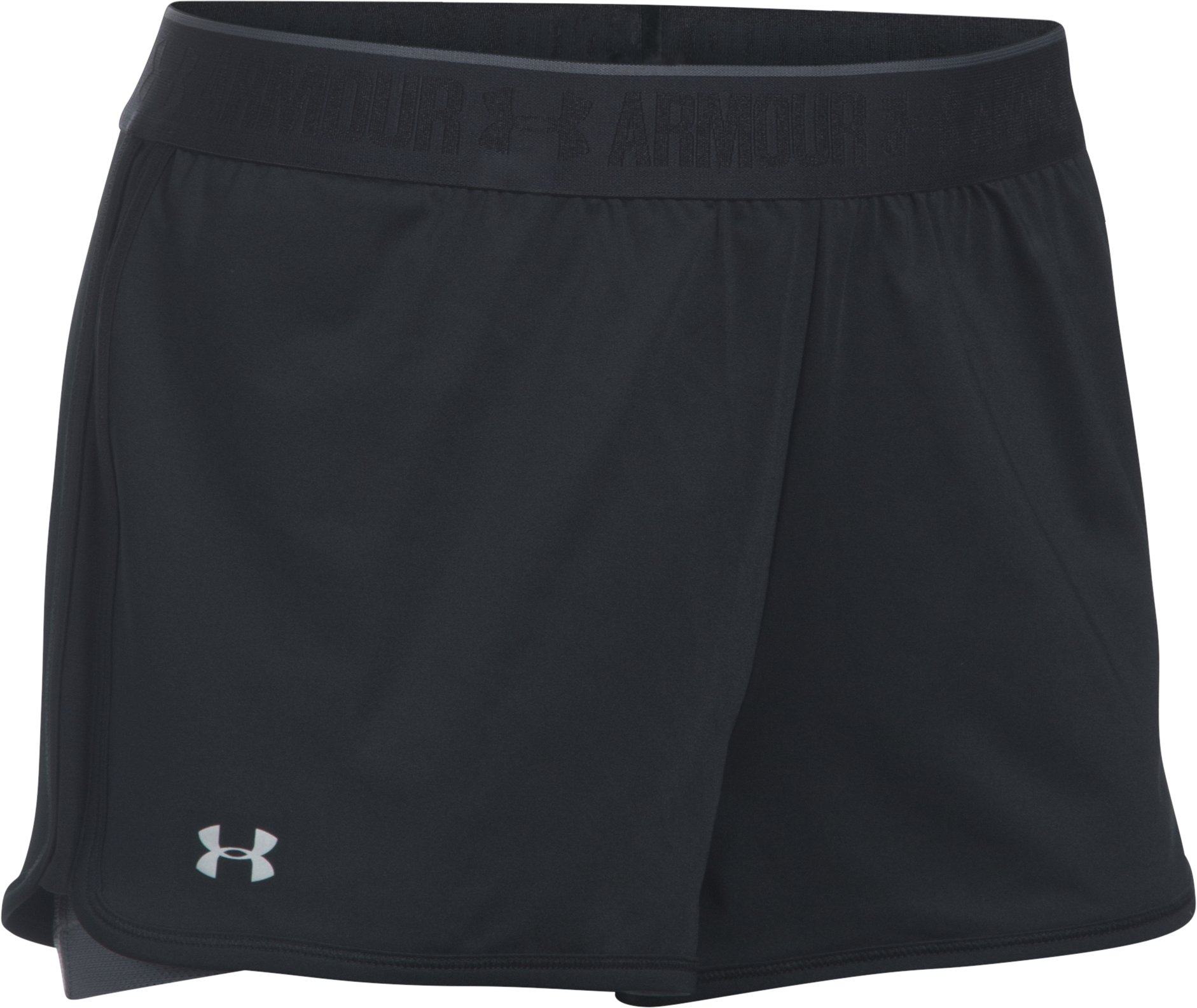 Women's UA HeatGear® Armour 2-In-1 Shorty, Black ,