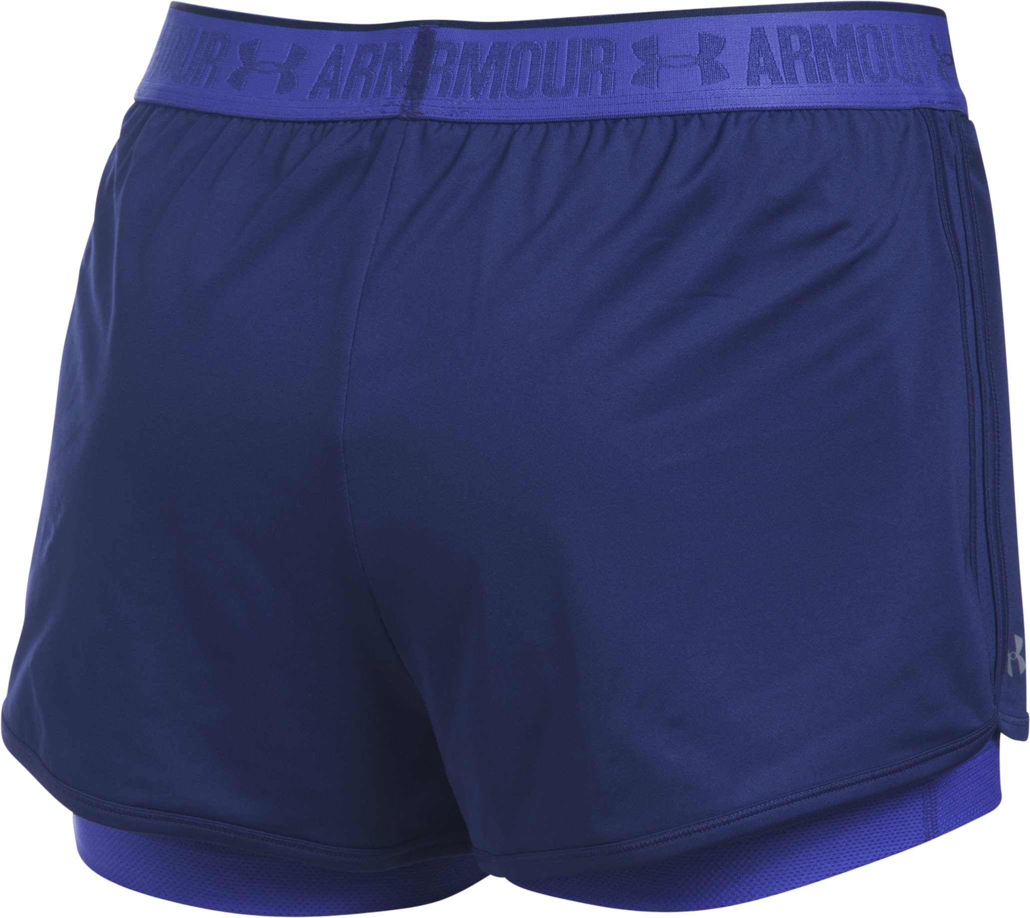Women's UA HeatGear® Armour 2-In-1 Shorty, EUROPA PURPLE,