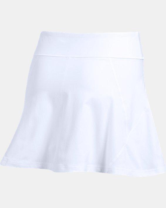 Women's UA Tennis Center Court Skort, White, pdpMainDesktop image number 8