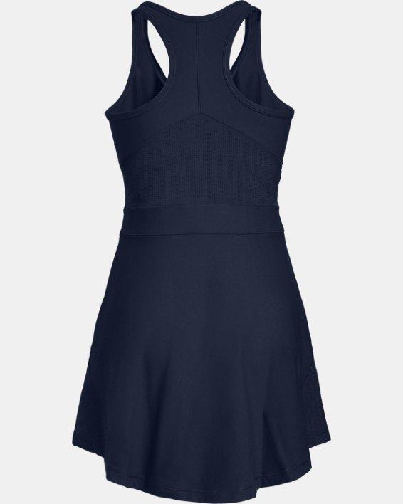 Women's UA Tennis Center Court Dress, Navy, pdpMainDesktop image number 5