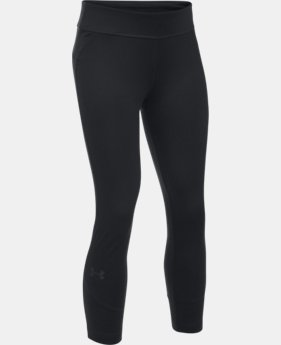Girls' UA Finale Capris  4 Colors $34.99