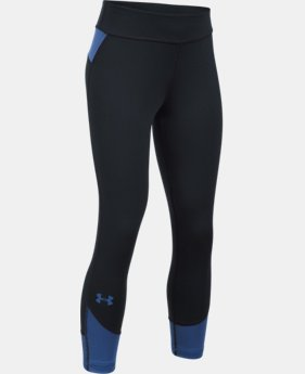 Girls' UA Finale Capris  1 Color $29.99