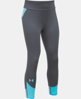 New Arrival  Girls' UA Finale Capris   $39.99