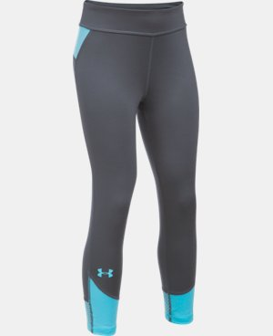 New Arrival  Girls' UA Finale Capris  1 Color $39.99