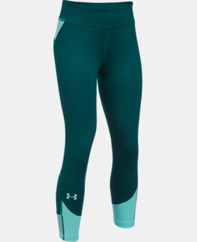 Girls' UA Finale Capris  2 Colors $39.99