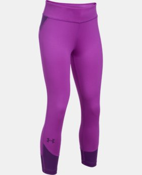 Girls' UA Finale Capris  3 Colors $34.99