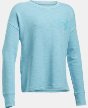 Girls' UA Stretch French Terry Pullover  2 Colors $20.99 to $28.49