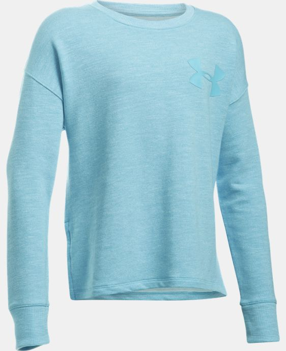 New Arrival  Girls' UA Stretch French Terry Pullover  1 Color $59.99