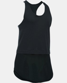 Girls' UA Studio Tank  1 Color $29.99