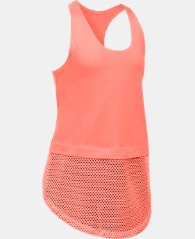 Girls' UA Studio Tank  1 Color $12.74 to $17.24